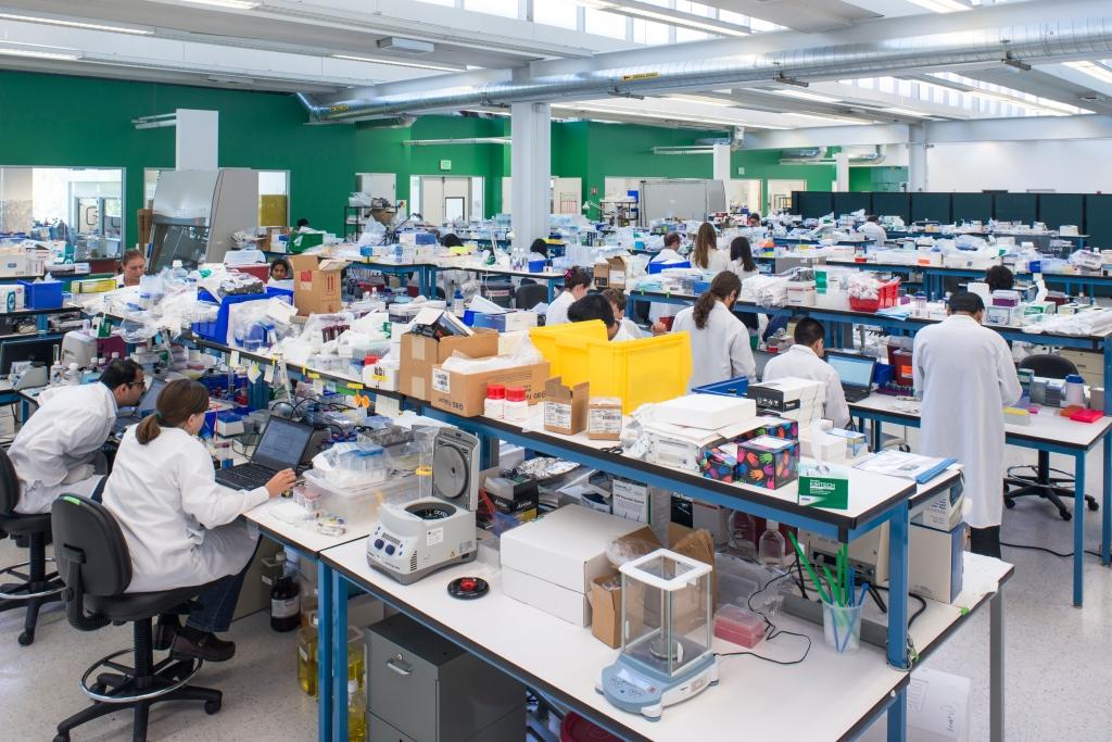 Theranos R&D lab