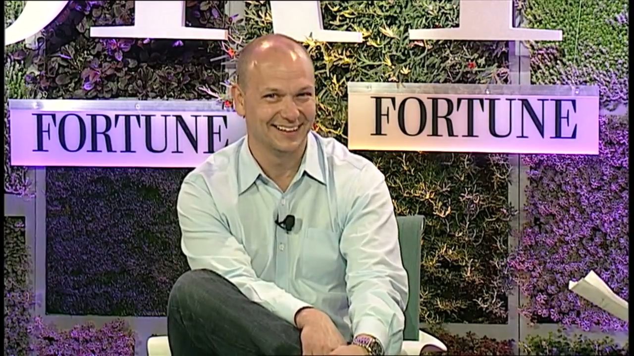 Nest co-founder and former CEO Tony Fadell at Fortune's Brainstorm Green event.