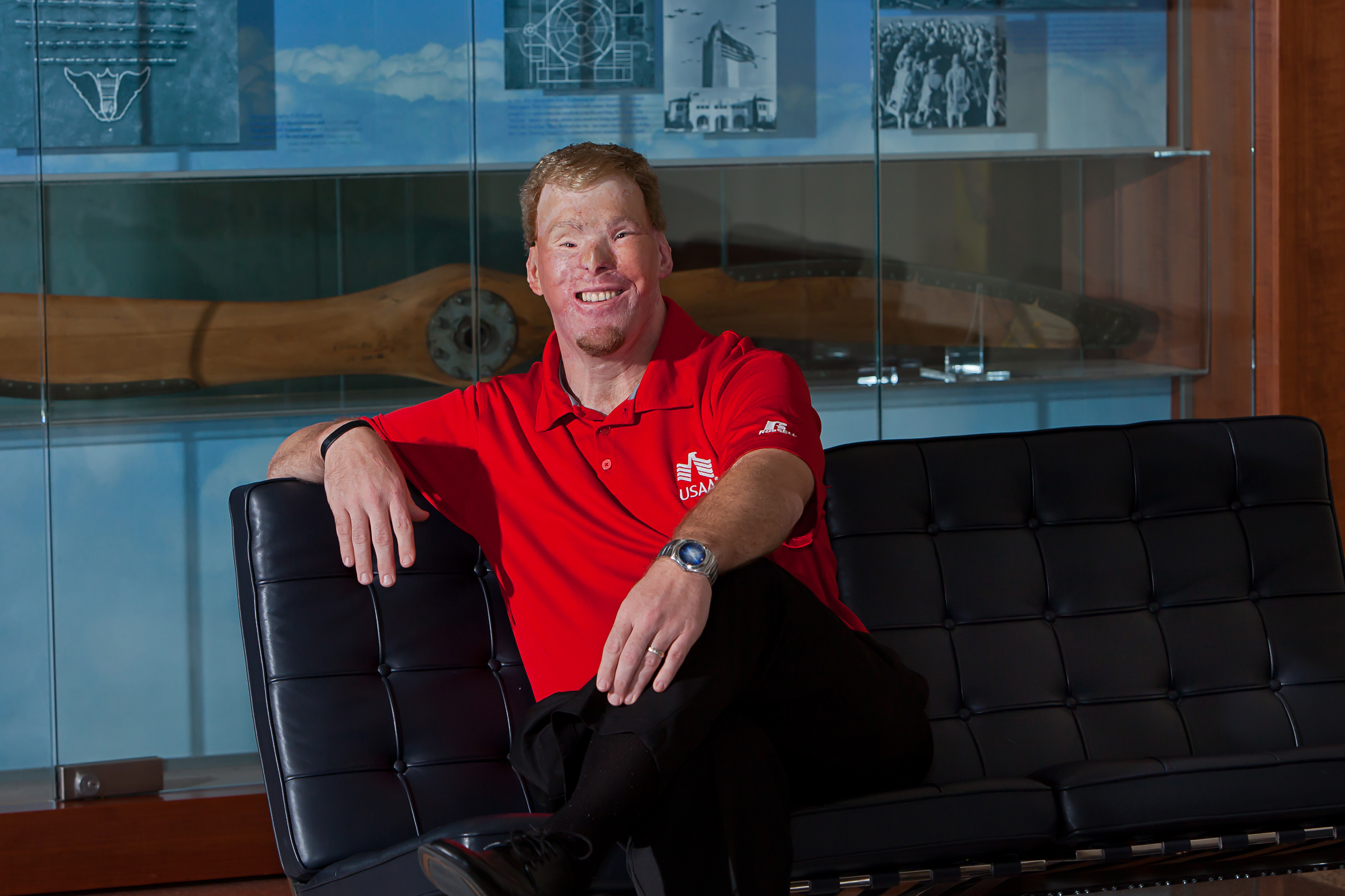 Todd Nelson, USAA employee and US Army veteran