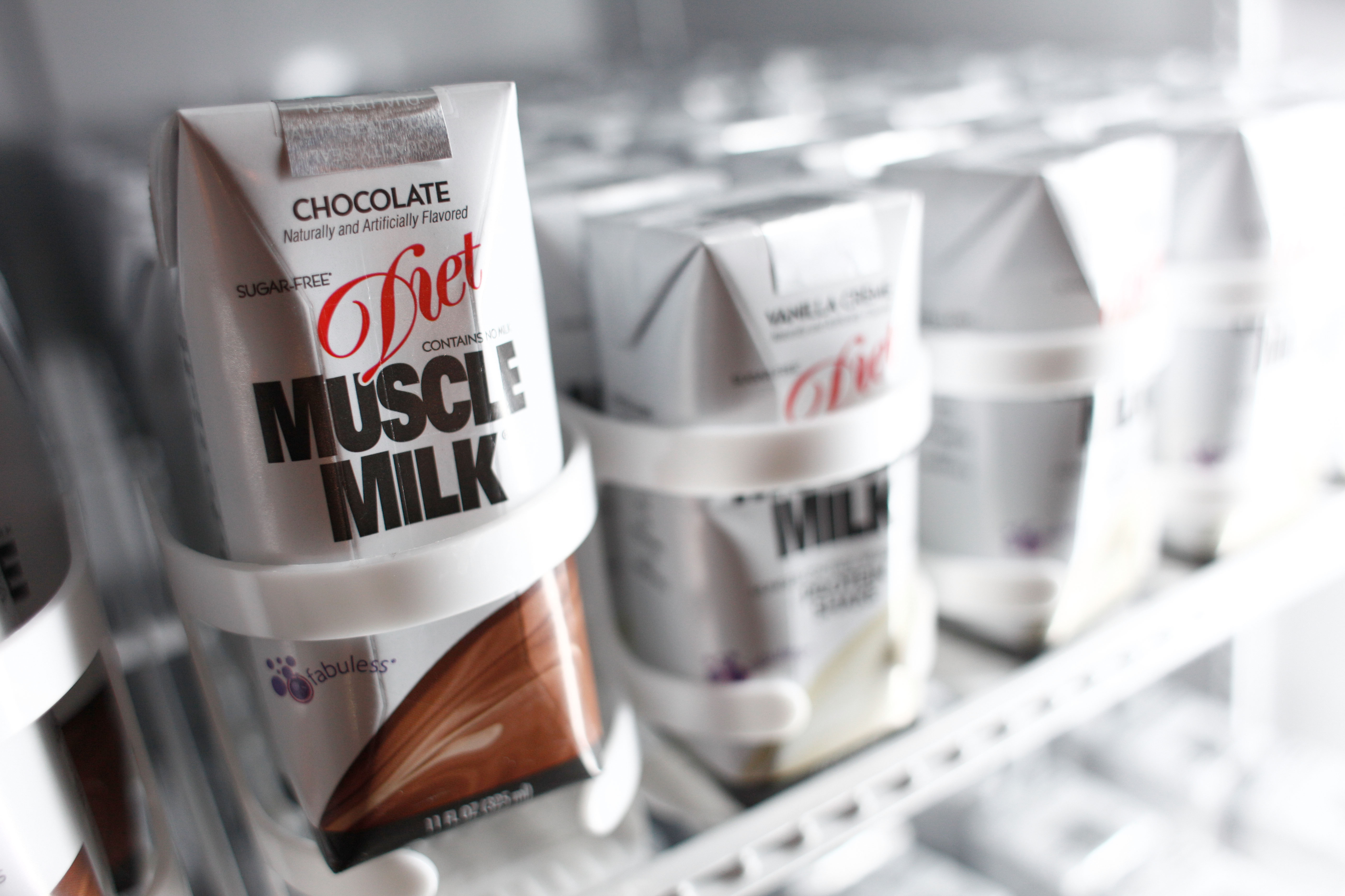 Diet Muscle Milk Fuels NY Fashion Week- Day 1