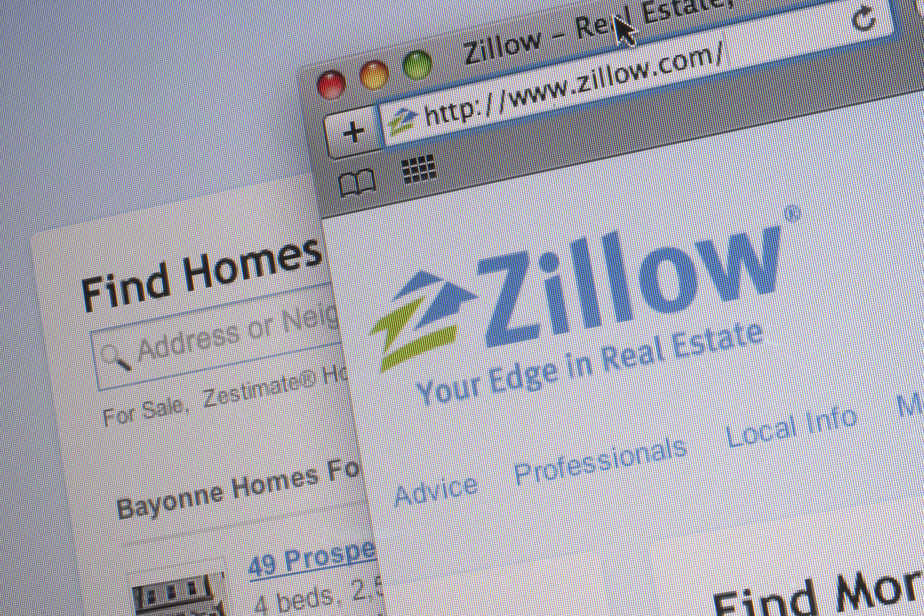 The Zillow Inc. Website