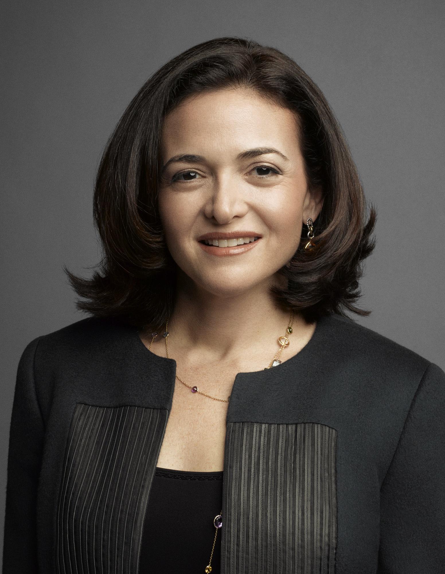 Sheryl Sandberg, Facebook's chief operating officer.
