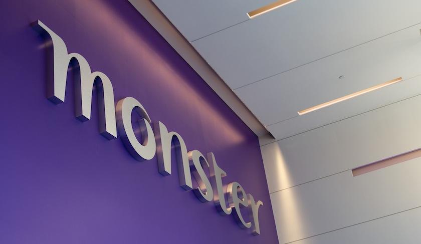Monster's headquarters in Weston, Mass.