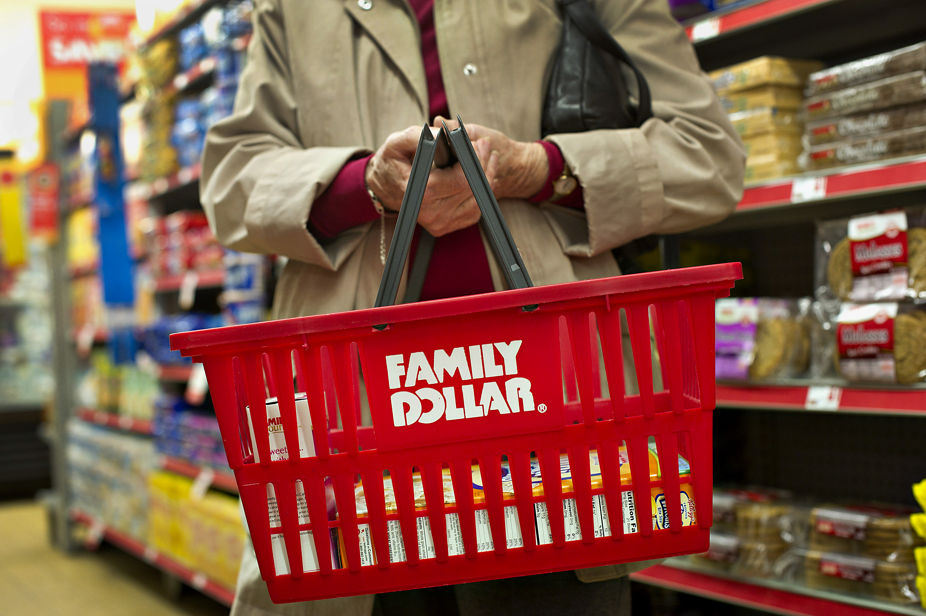 Inside A Family Dollar Store Ahead of Earnings Reports