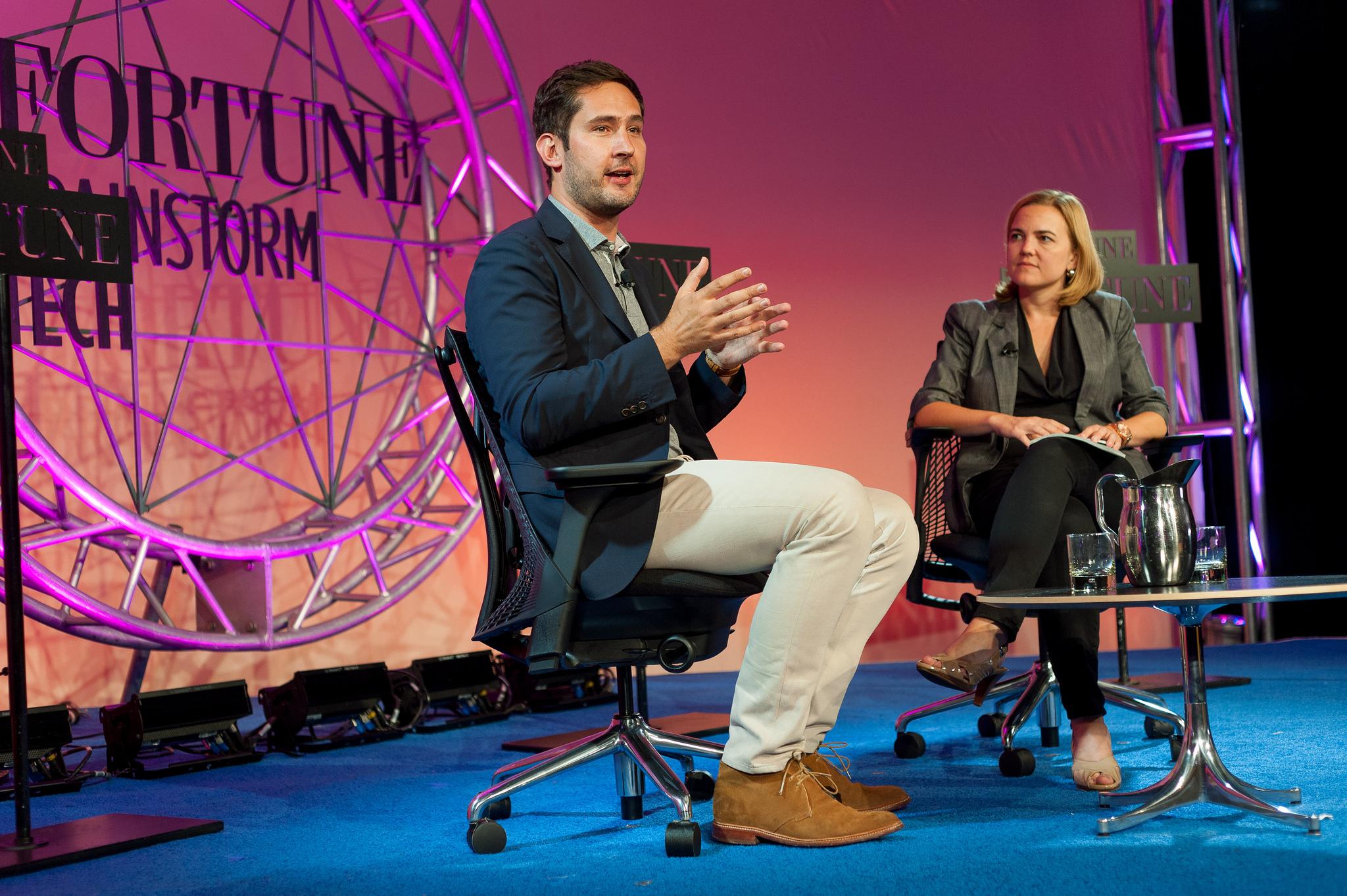 Kevin Systrom, CEO, Instagram Interviewer: Jessi Hempel, Fortune