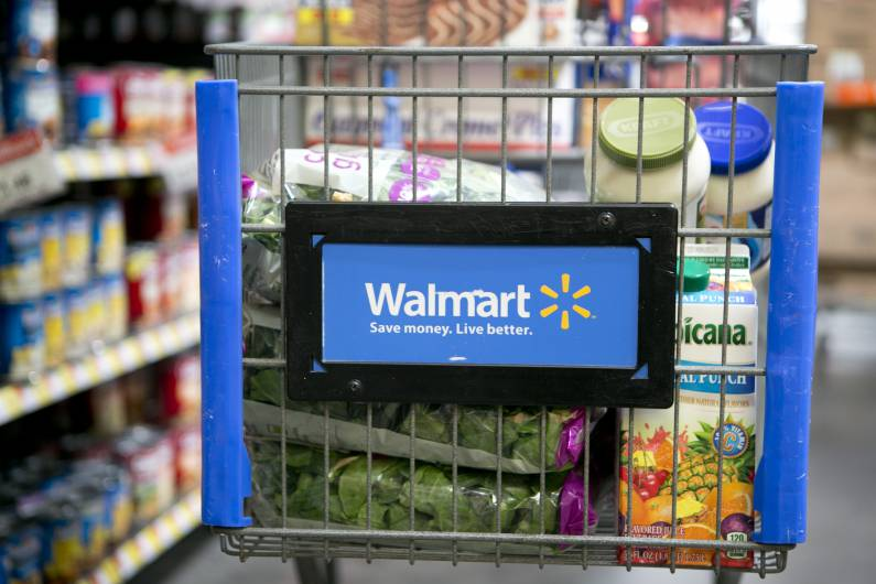 Inside A Wal-Mart Store Ahead Off Earns