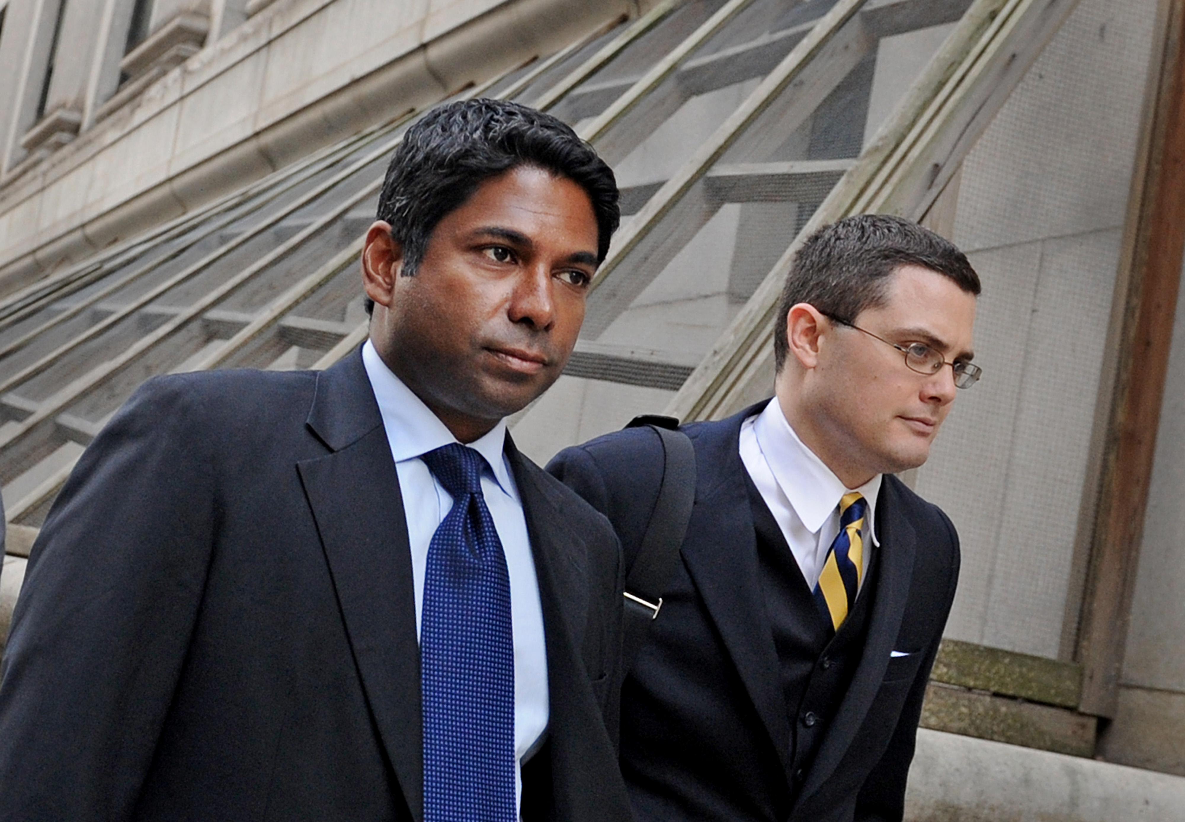 Rengan Rajaratnam Insider Trading Court Appearance