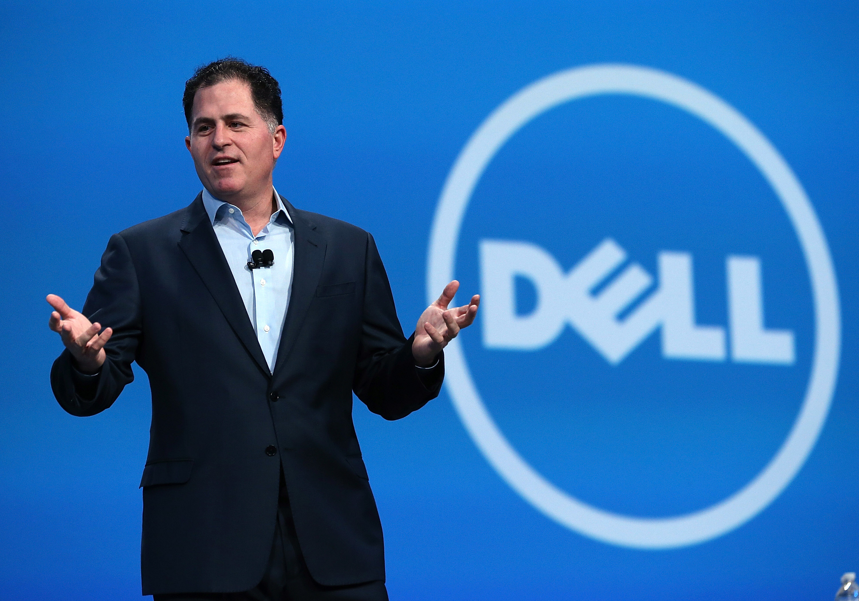 Michael Dell Addresses Oracle Open World Conference