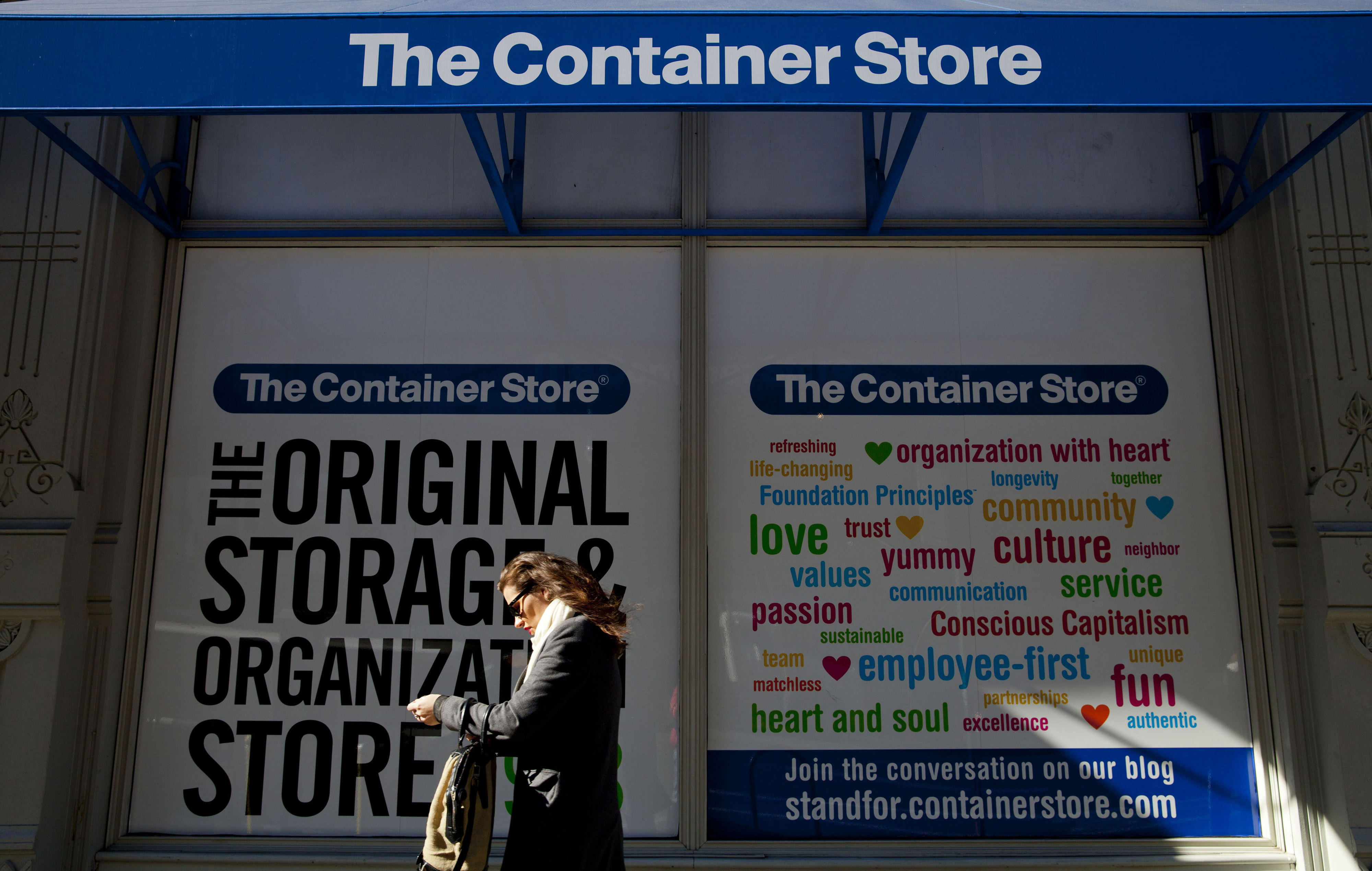 Inside A Container Store Group Inc. Store Following Co.'s IPO