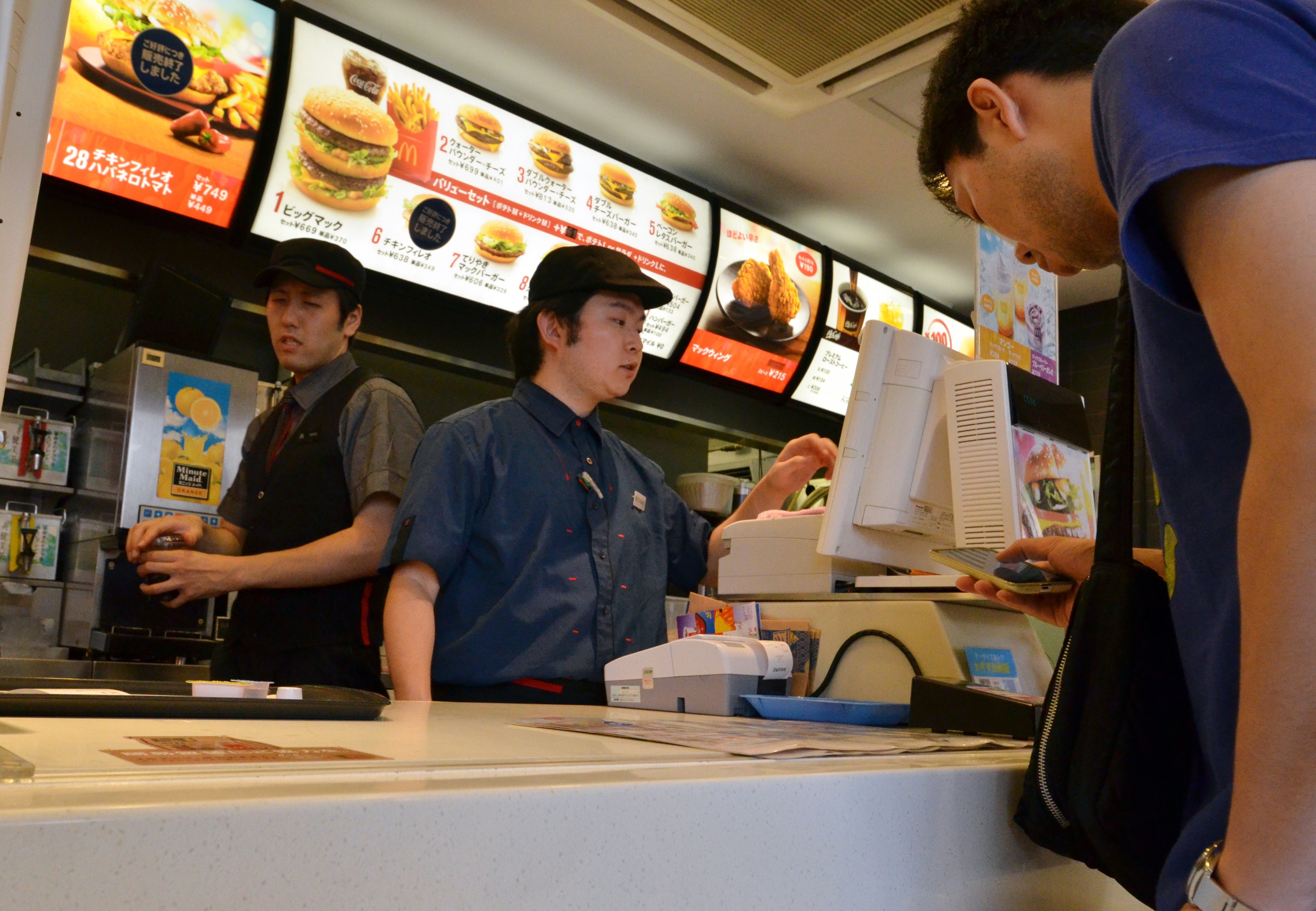 JAPAN-CHINA-US-THAILAND-FOOD-SAFETY-MCDONLADS