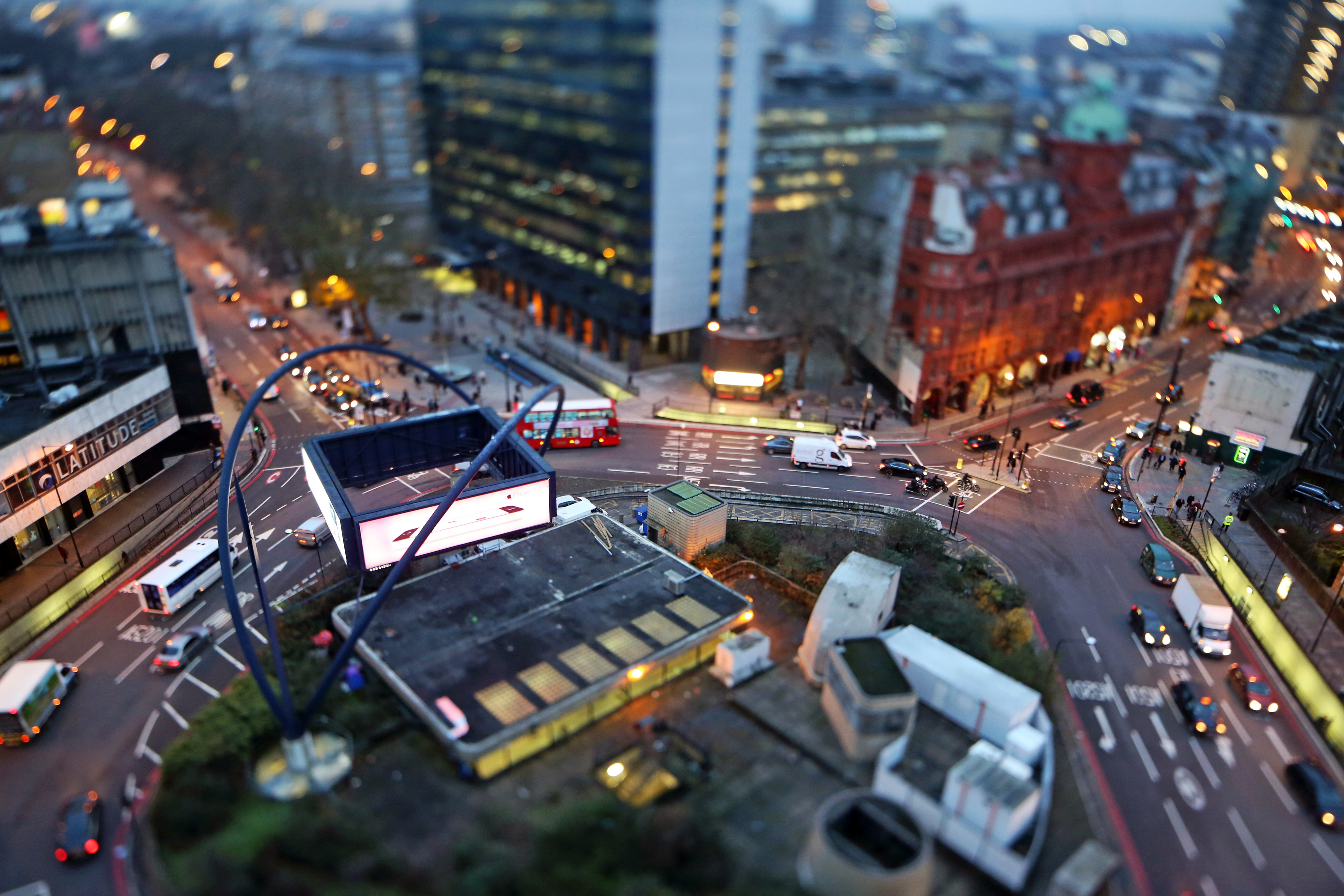 """London's extravagantly-named """"Silicon Roundabout"""" in Clerkenwell is the hub of what the government hopes will become a new tech cluster."""