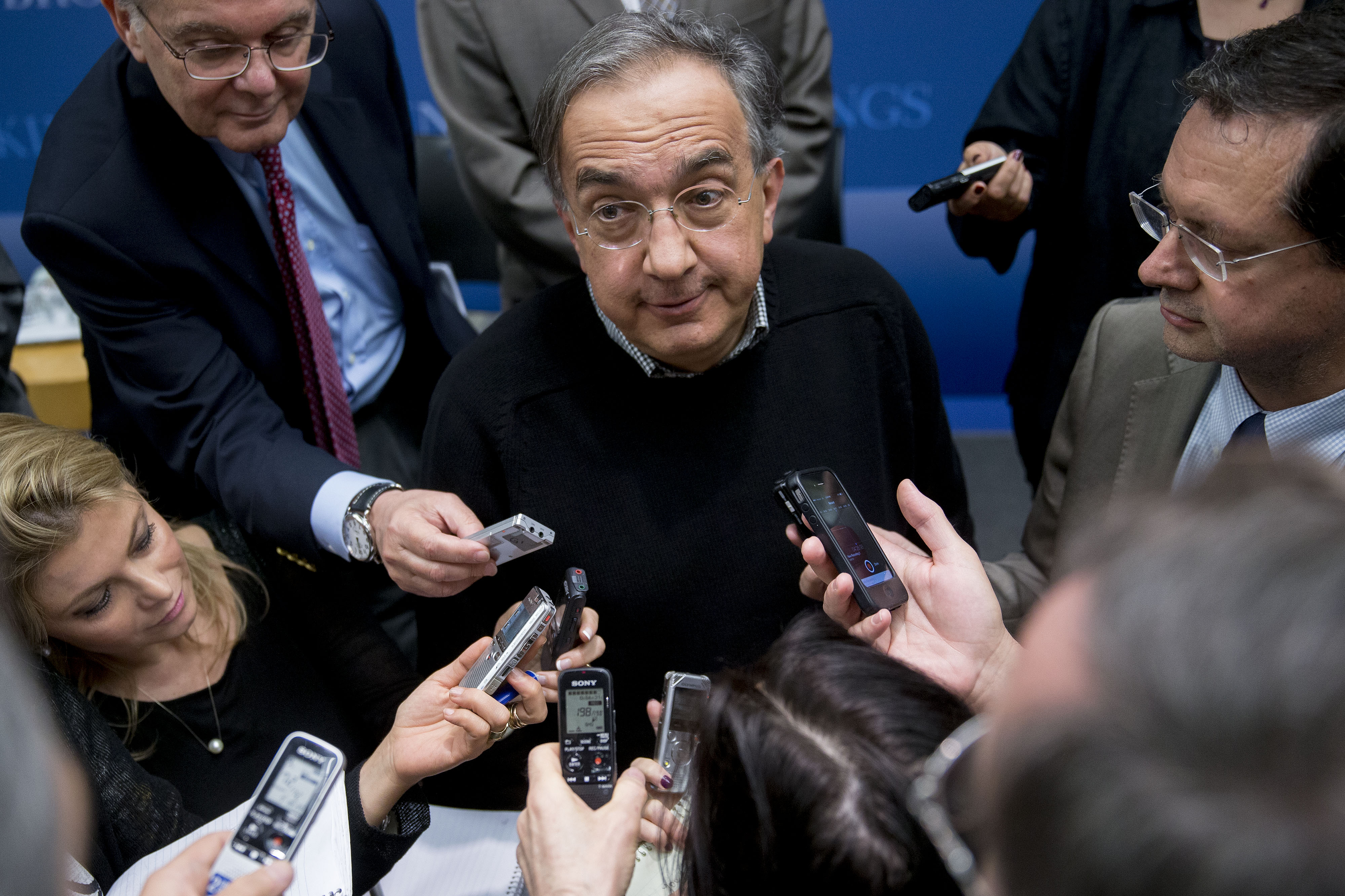Chrysler CEO Sergio Marchionne Speaks At The Brookings Institution