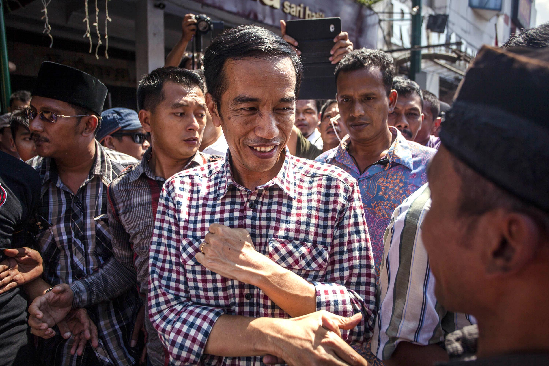 Indonesian Presidential Candidate Joko Widodo