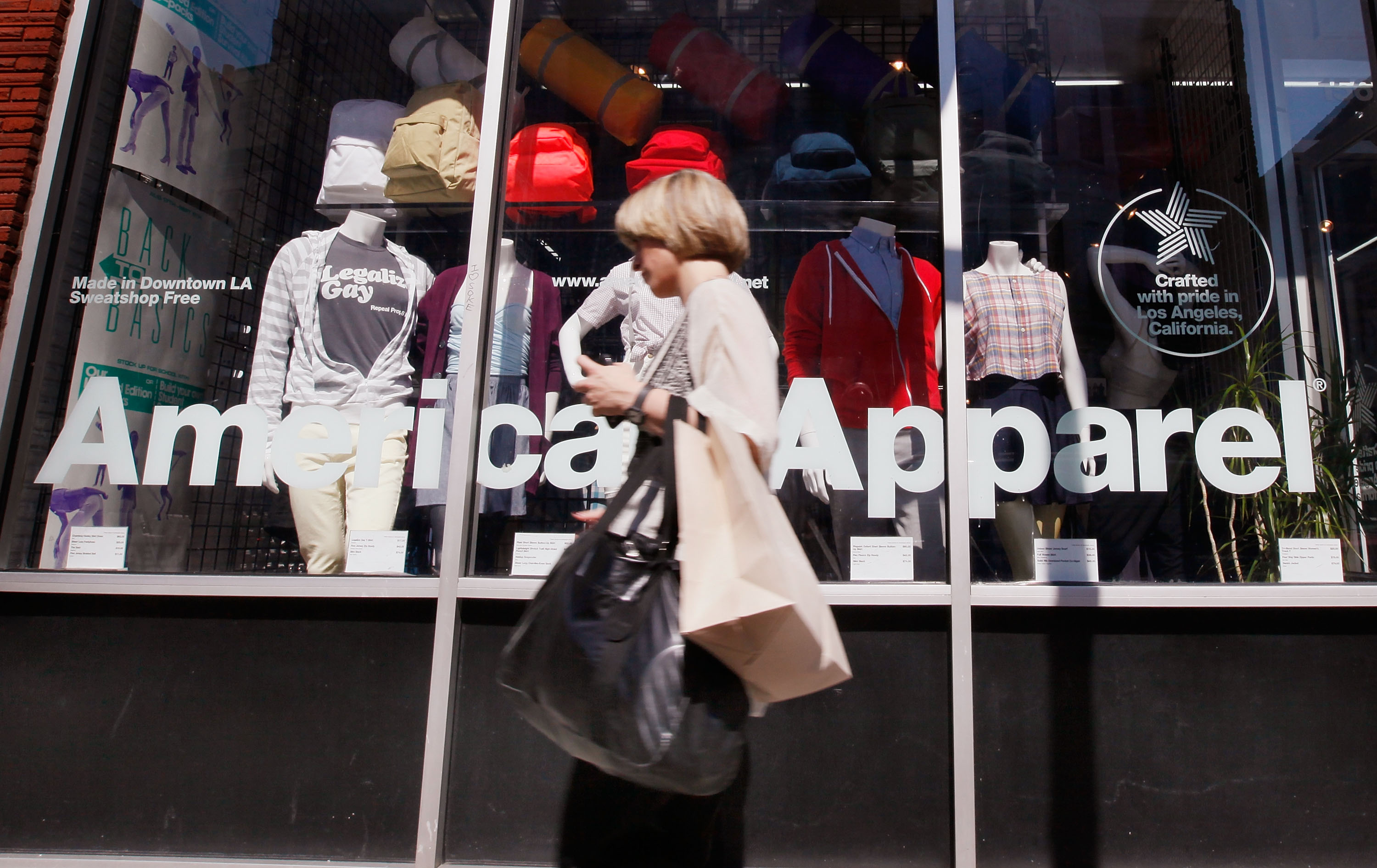 American Apparel Forced To Layoff Over A Thousand Factory Workers