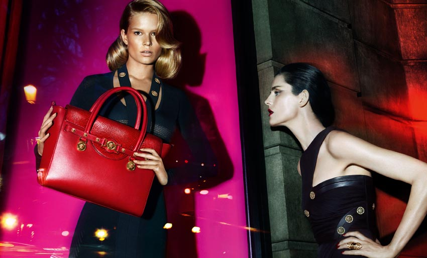 Versace Fall/Winter 2014 ad campaign