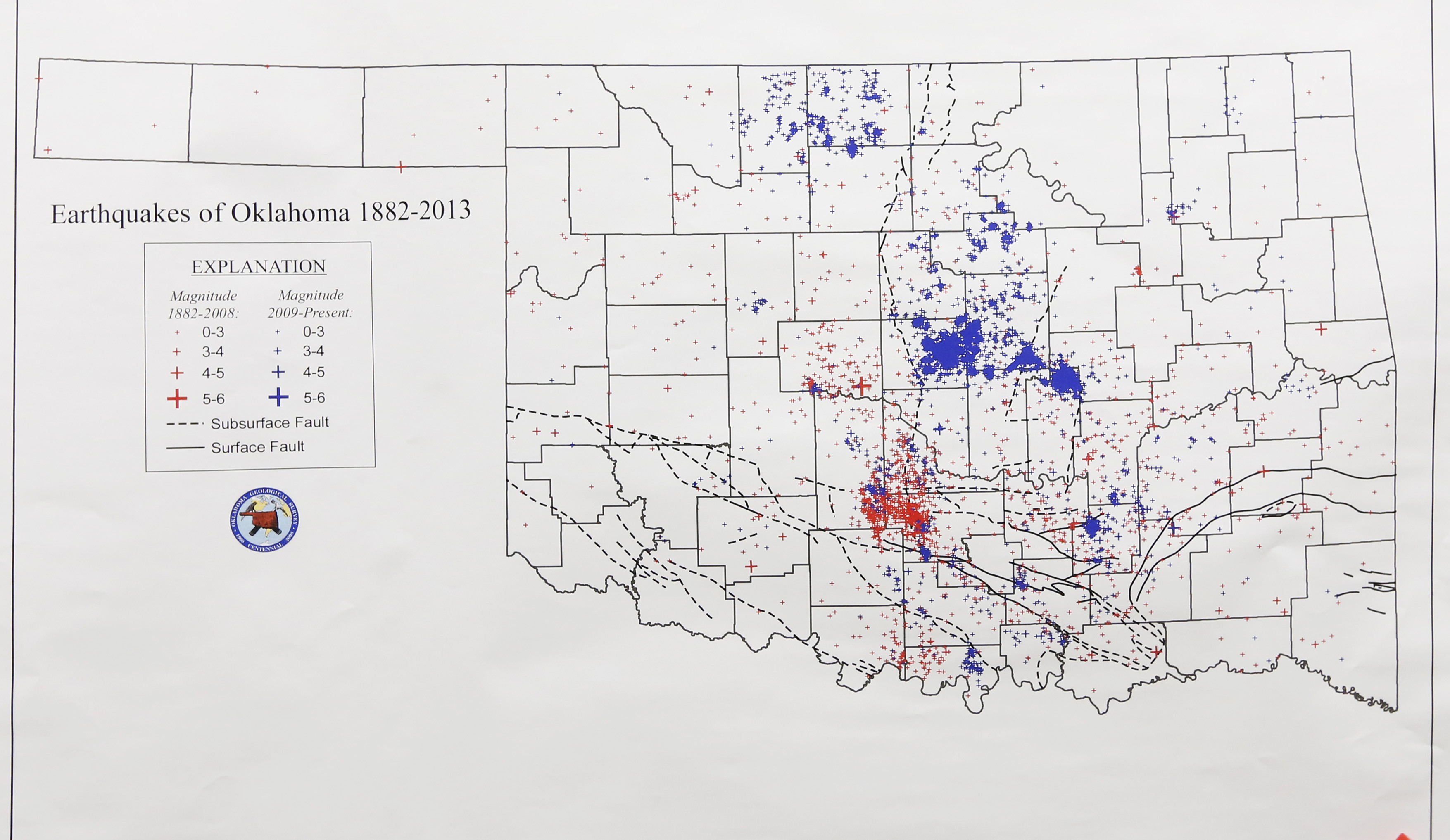 Oil Drilling Earthquakes