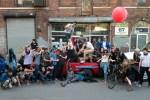 Instagram NYC meet in Greenpoint, Brooklyn in May 2014.