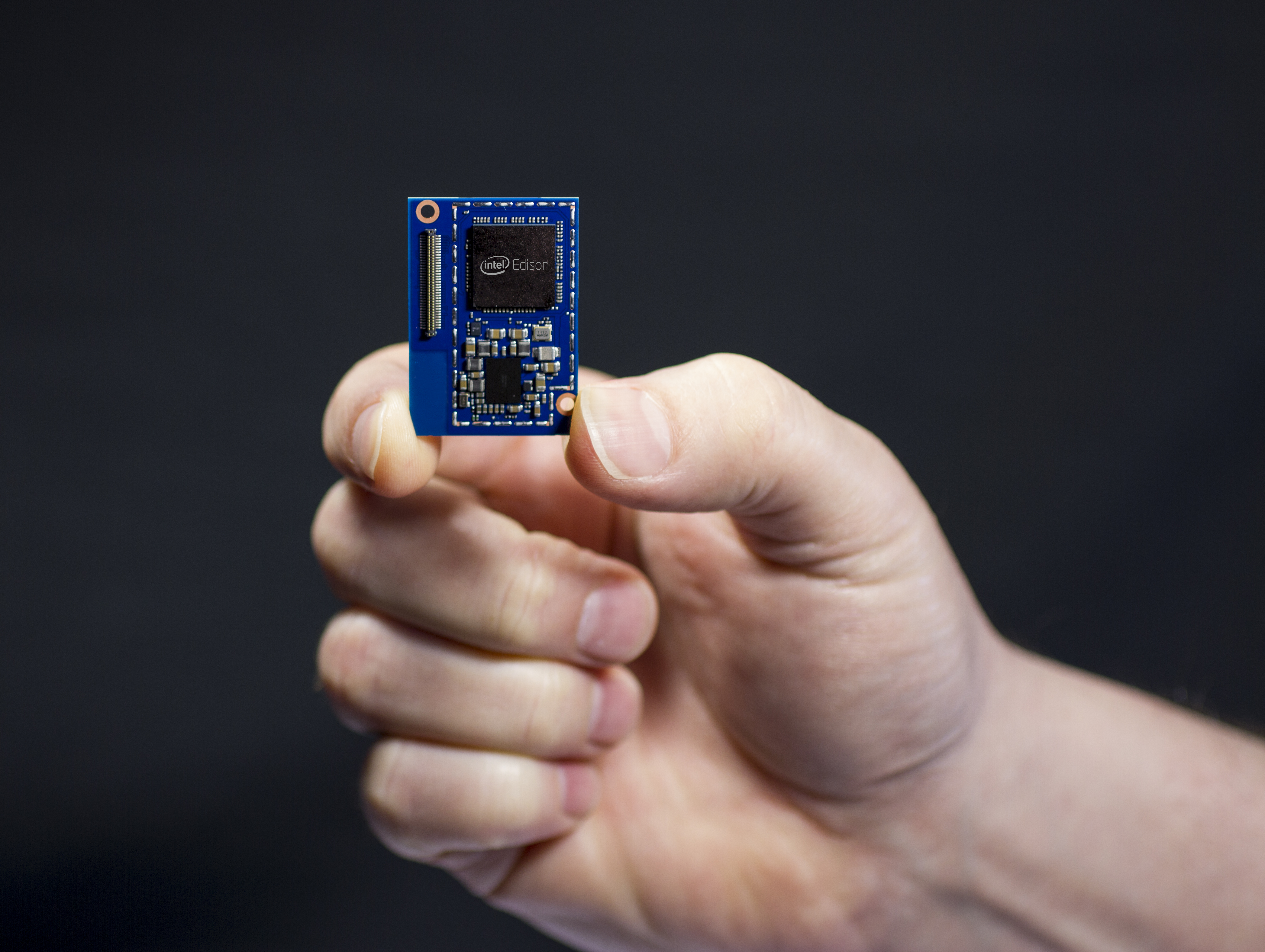 Intel's new Edison development platform, one key to the company's bid to dominate the Internet of Things.