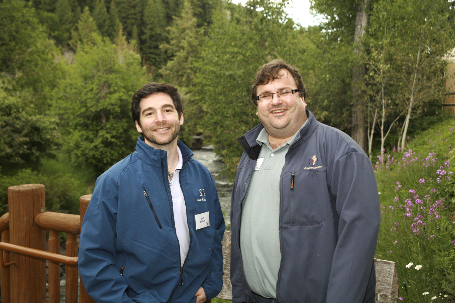 LinkedIn's Jeff Weiner and Reid Hoffman