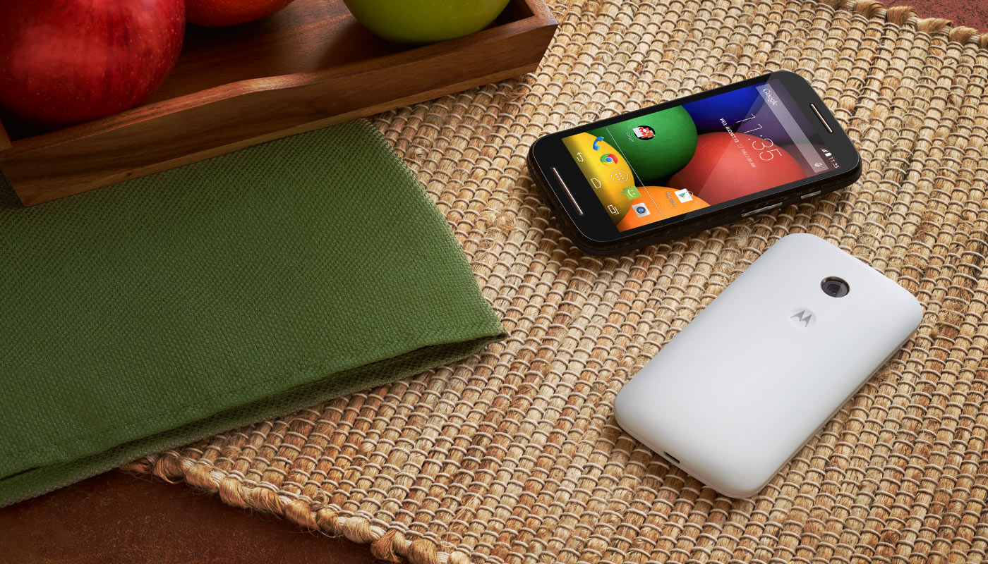 Motorola's Moto E smartphone.