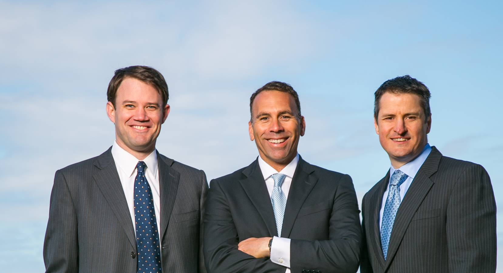Privateer Holdings founders Michael Blue, Christian Groh, and Brendan Kennedy (left to right)