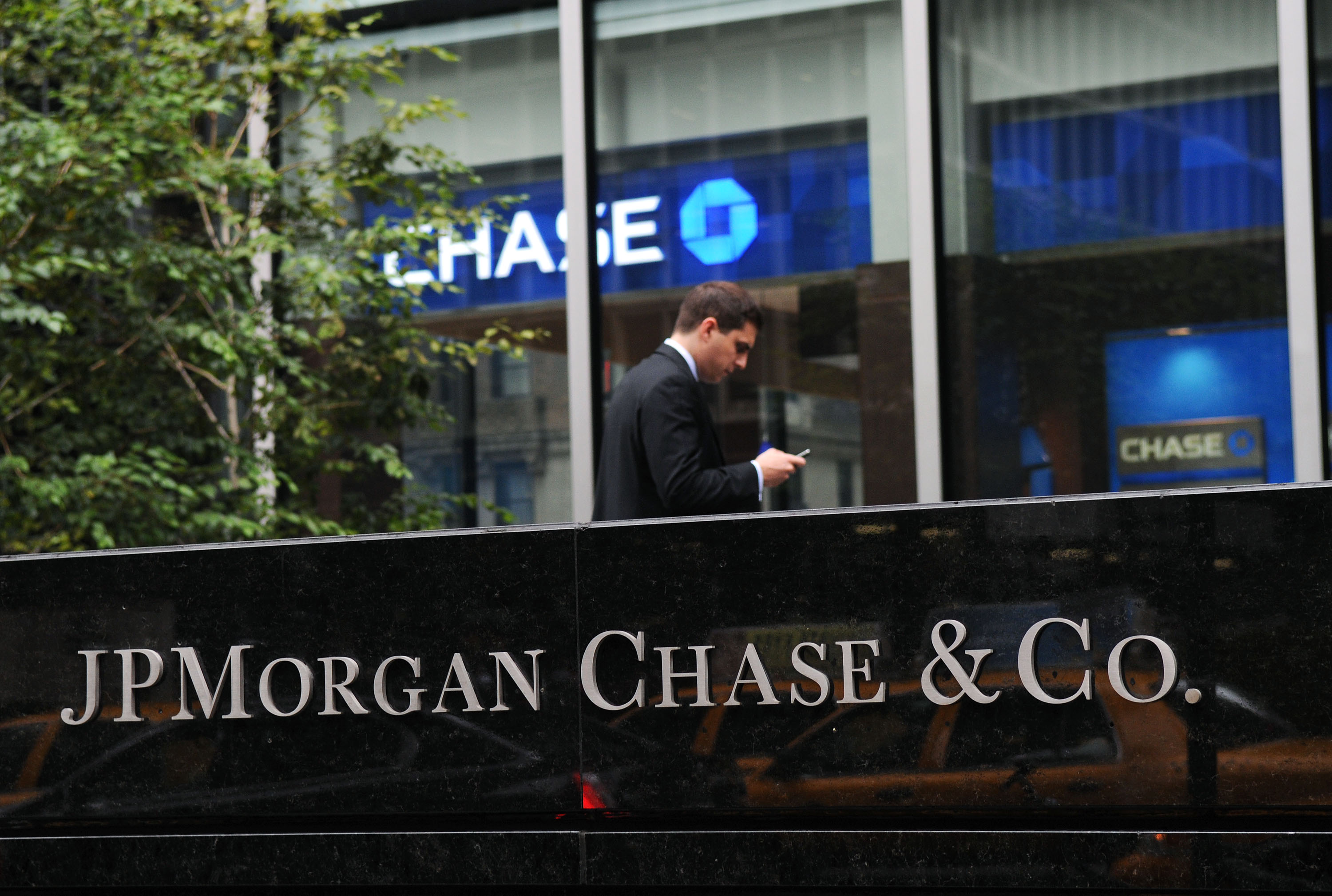 JPMorgan Profit Rises 76% As Bad Loans Dwindle