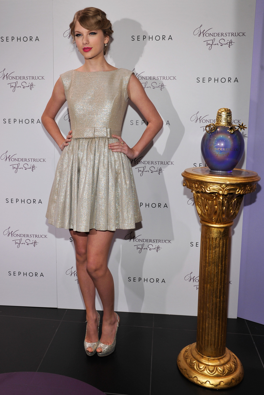 Taylor Swift Wonderstruck Launch At Sephora Glendale