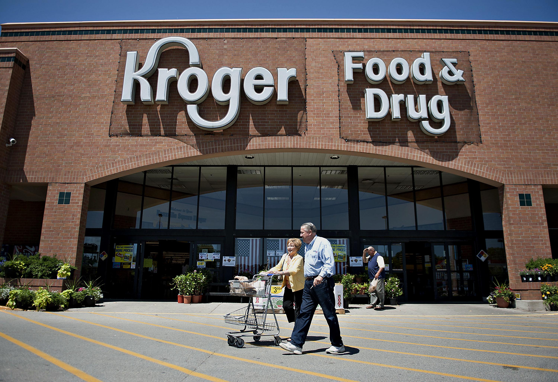 Inside A Kroger Co. Supermarket Ahead Of Earns Figures