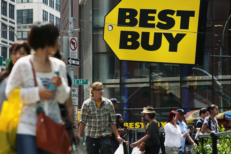 Best Buy Second Quarter Profit Drops 91 Percent