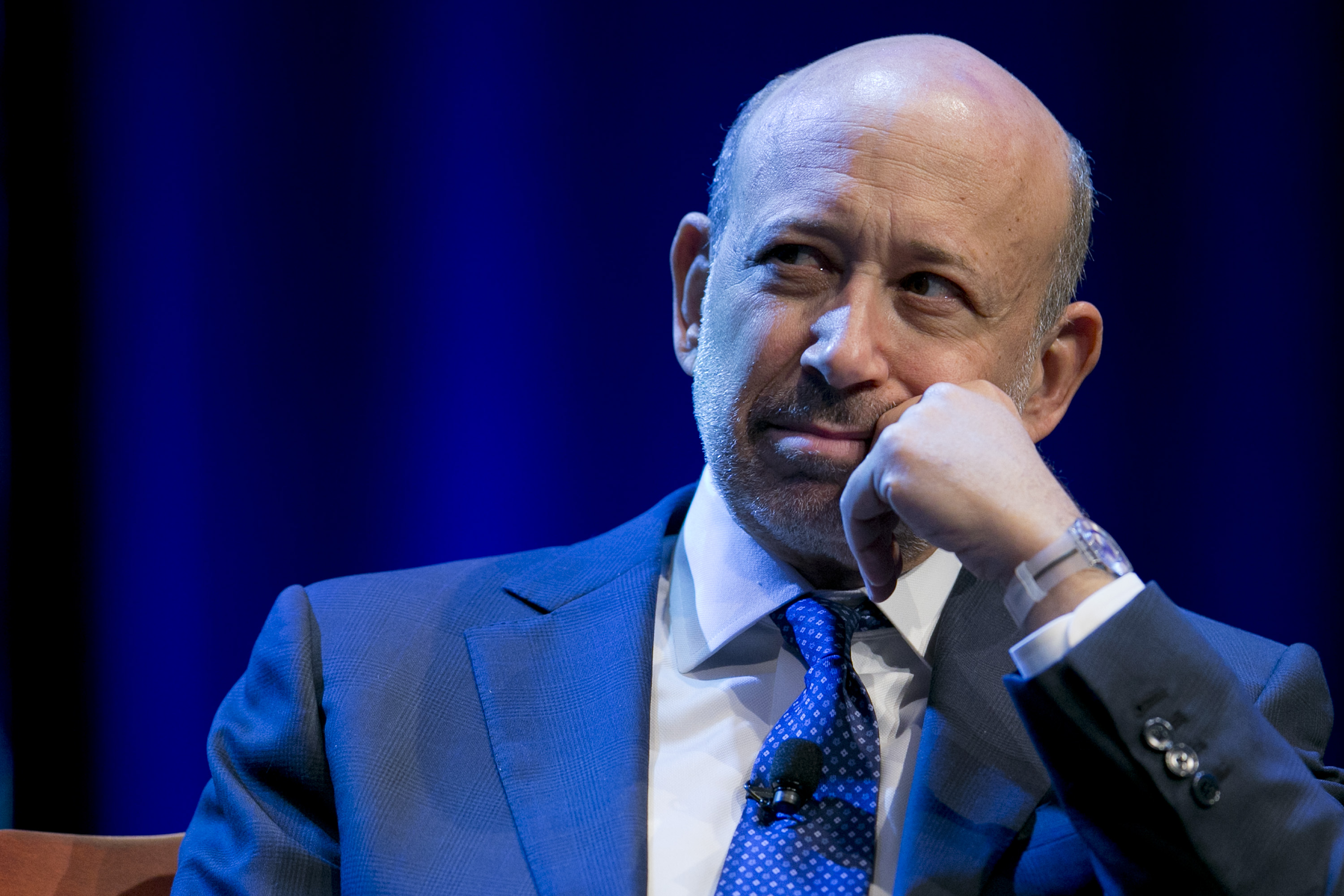 Goldman Sachs CEO Lloyd Blankfein Addresses The Investment Company Institute Meeting