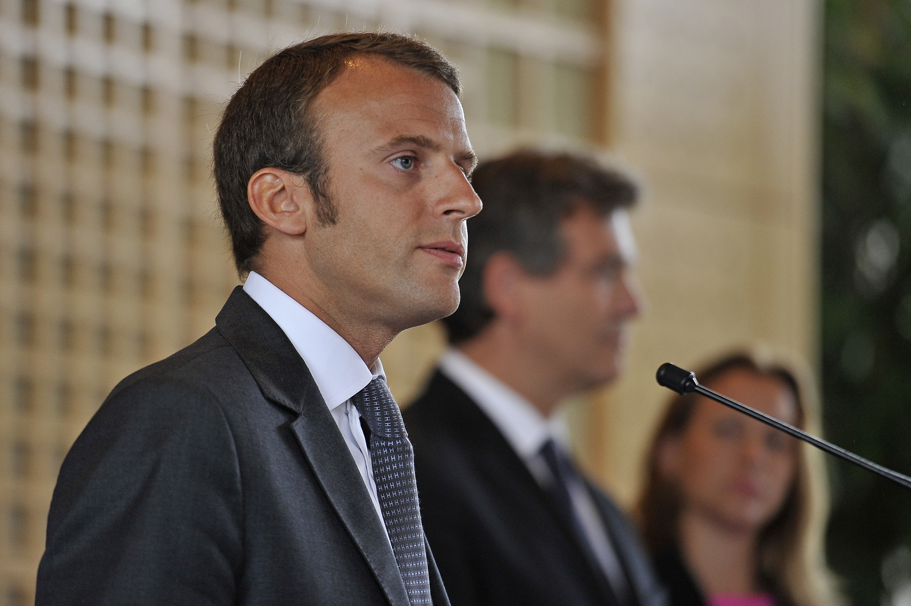 Emmanuel Macron Named As France's New  Minister Of The Economy, Production Recovery and the Digital Sector