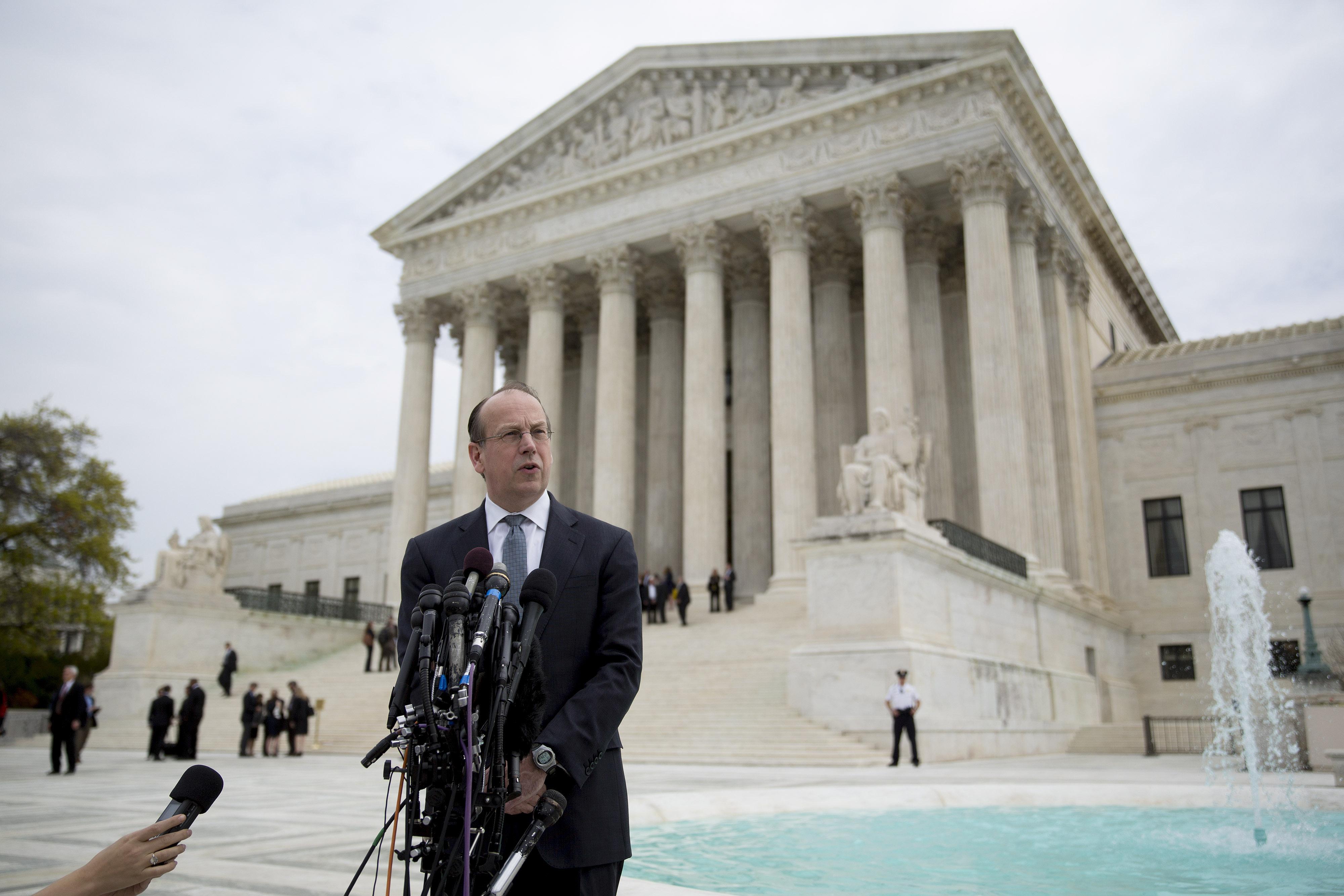 Supreme Court Hears Case Of Aereo Inc. V. American Broadcasting Companies