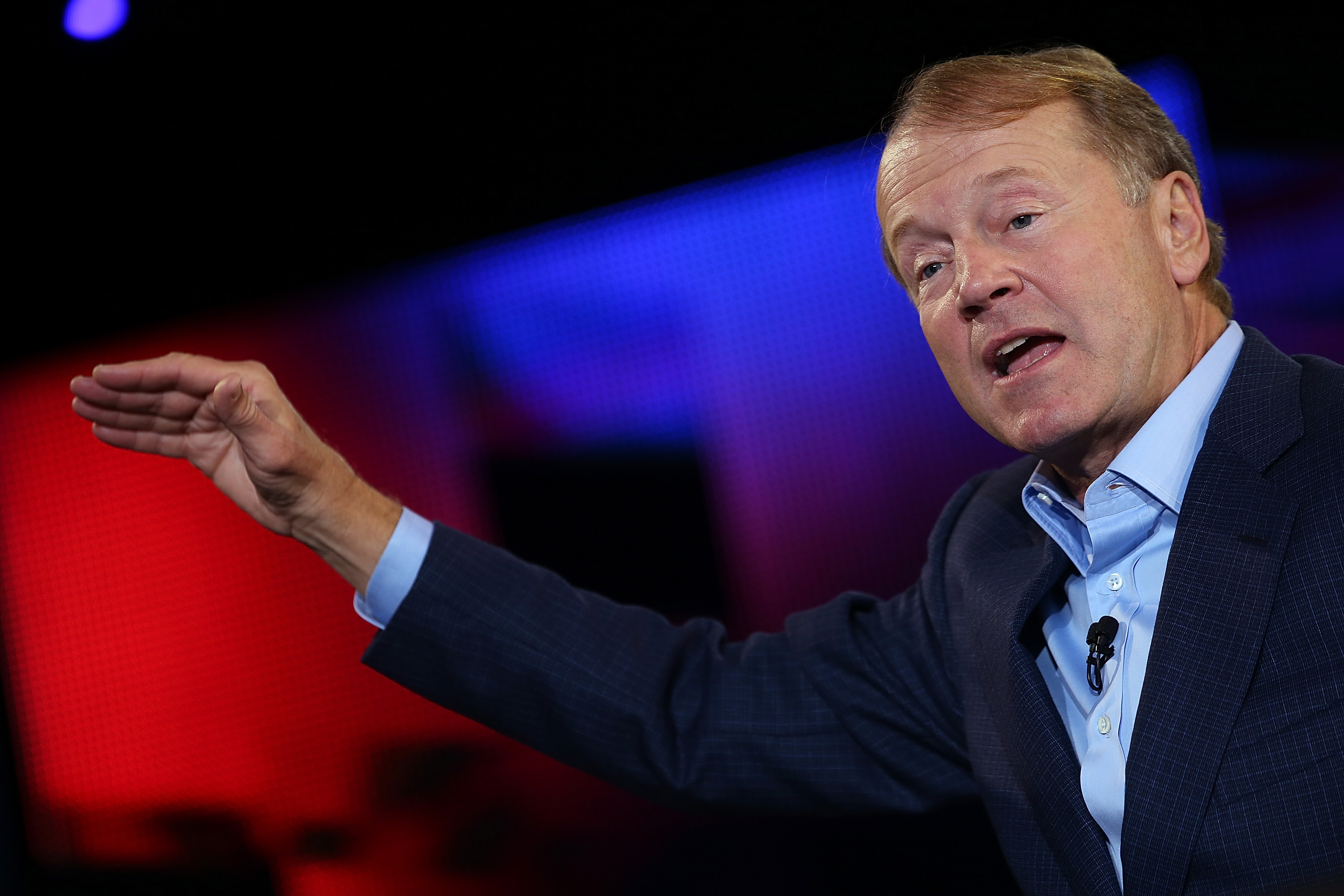 Cisco CEO John Chambers Gives Keynote Address At Cisco Live