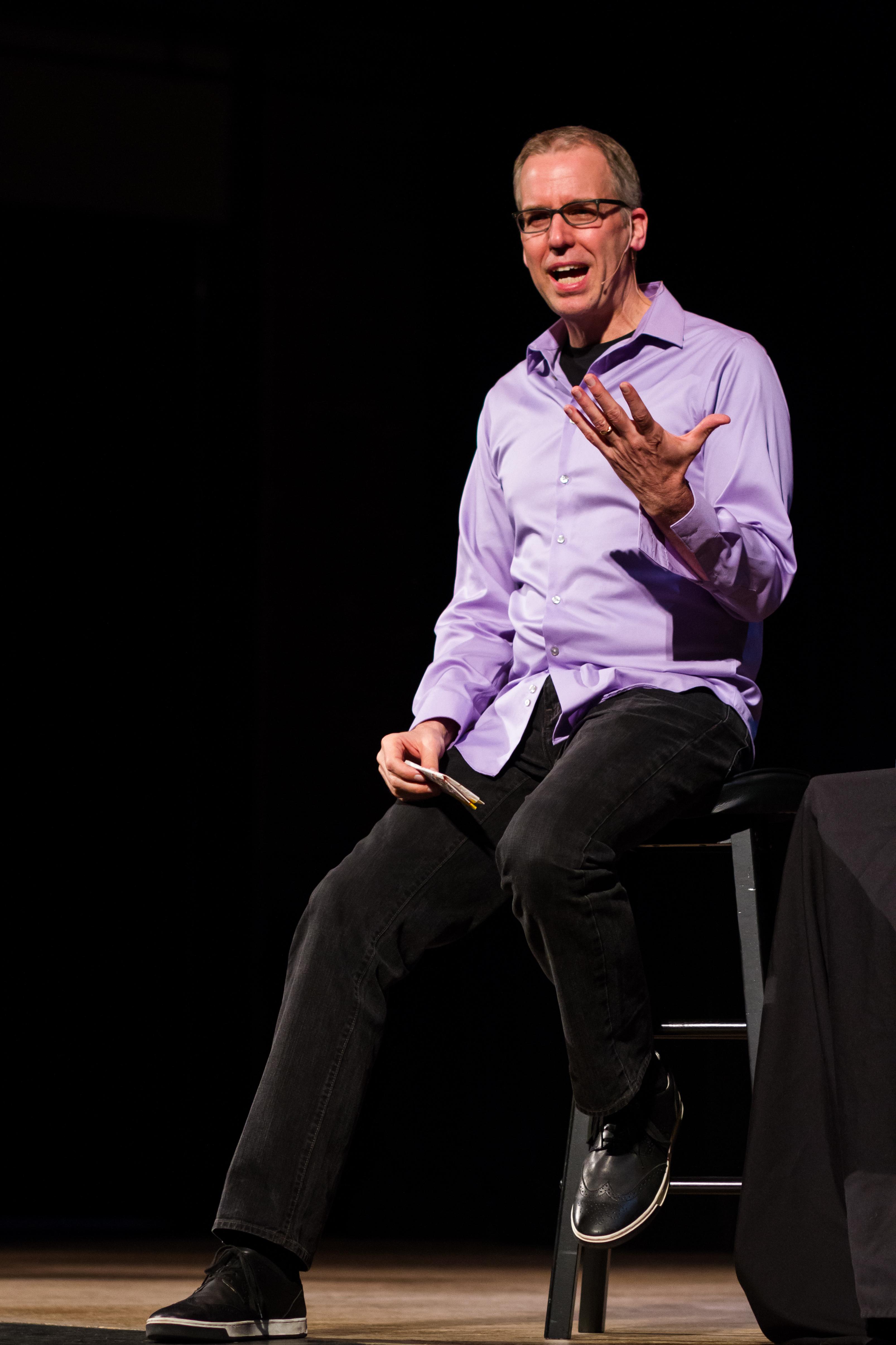 PostSecret founder Frank Warren.