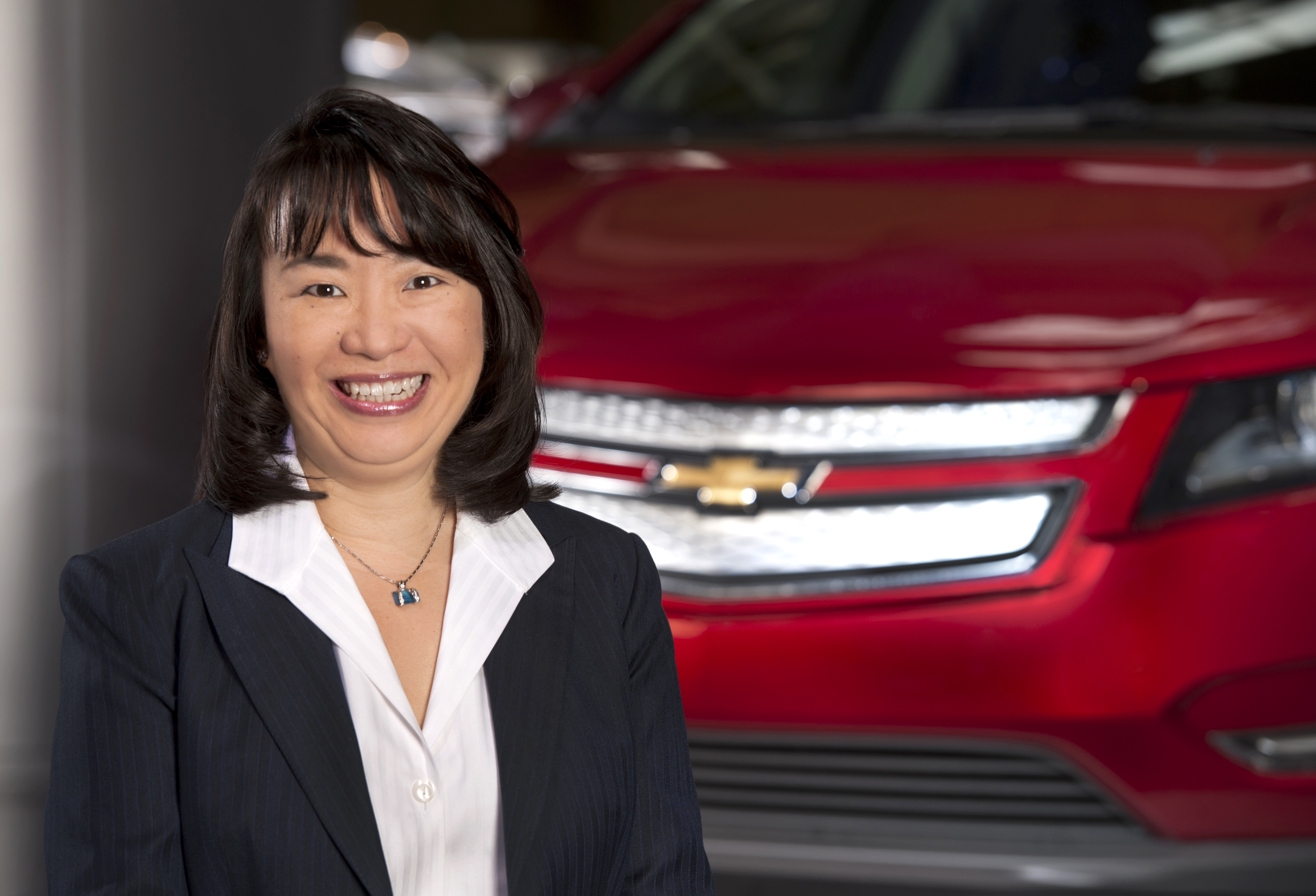 Mary Chan, president of GM's Global Connected Consumer group.