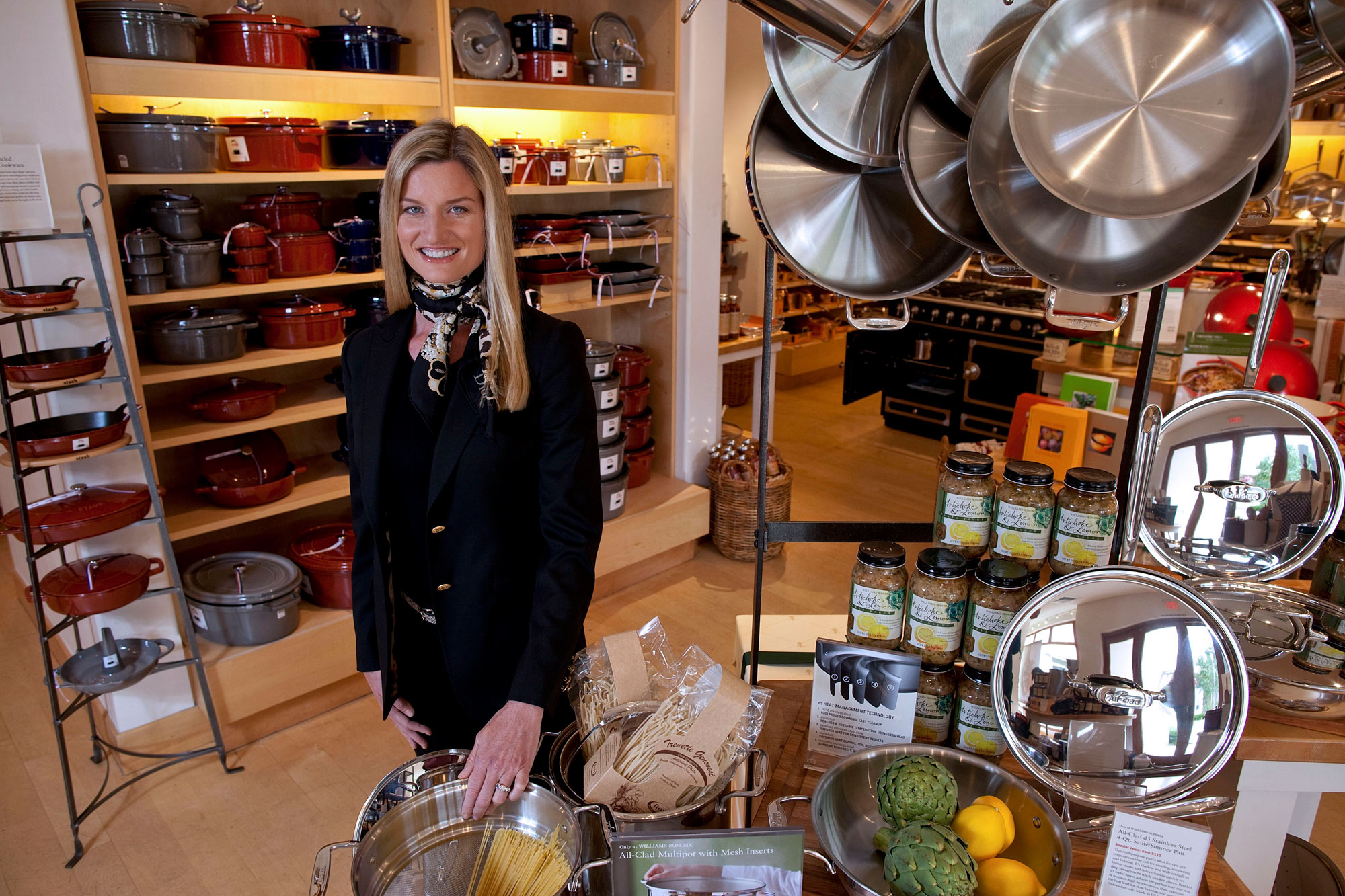 Williams-Sonoma Founder Tells New CEO Alber To 'Make It Better