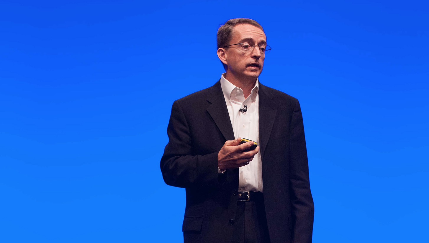 Pat Gelsinger, VMware's chief executive, at VMworld Europe in Barcelona, Spain in October 2013.