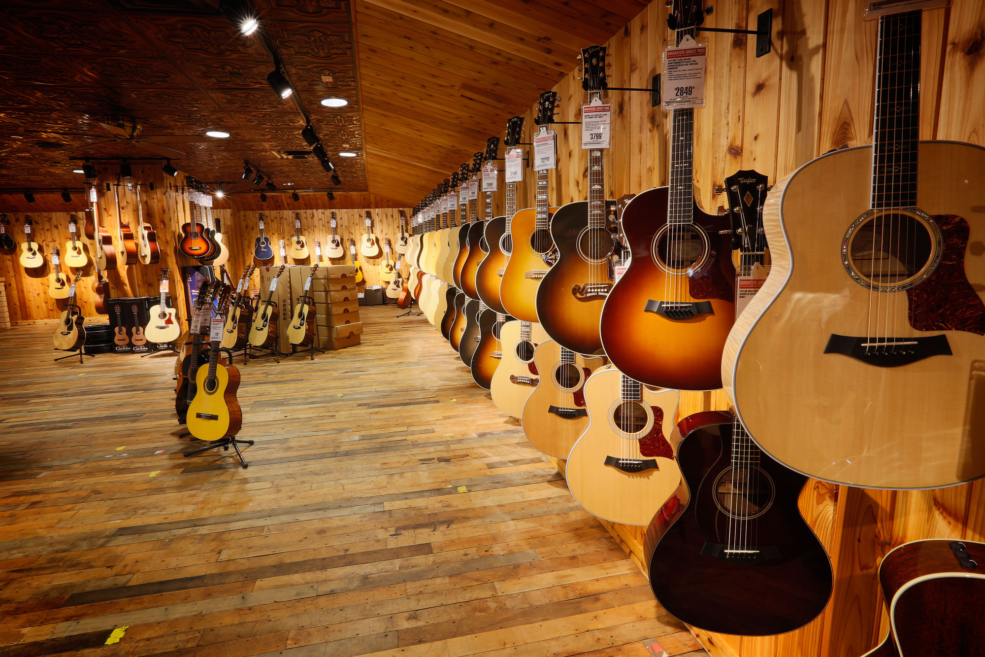 Guitar Center Plans Major Store Expansion To Fight Off Indies Amazon Fortune