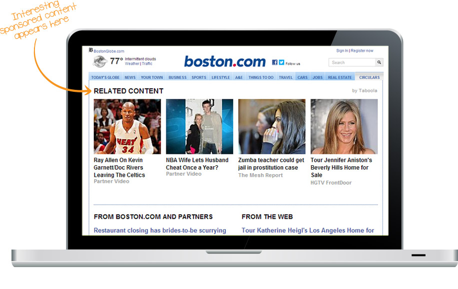 Taboola's content recommendation module is a fixture on the web.