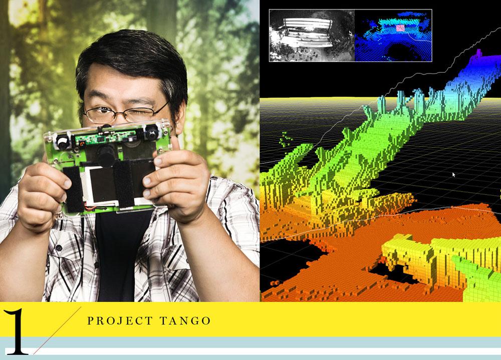Google ATAP project Tango