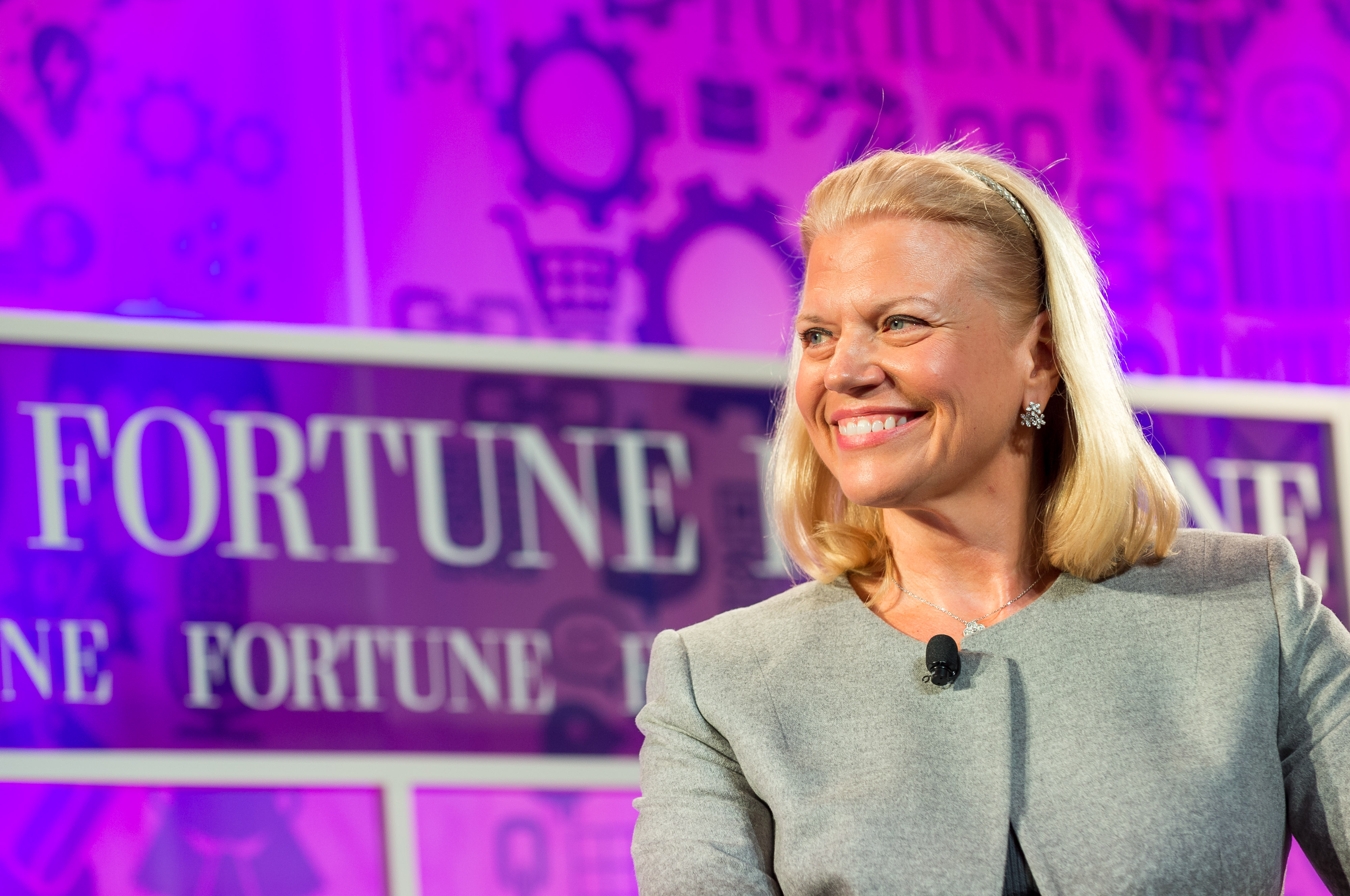 IBM CEO Ginni Rometty at the 2013 Fortune Most Powerful Women Summit in Washington, D.C.