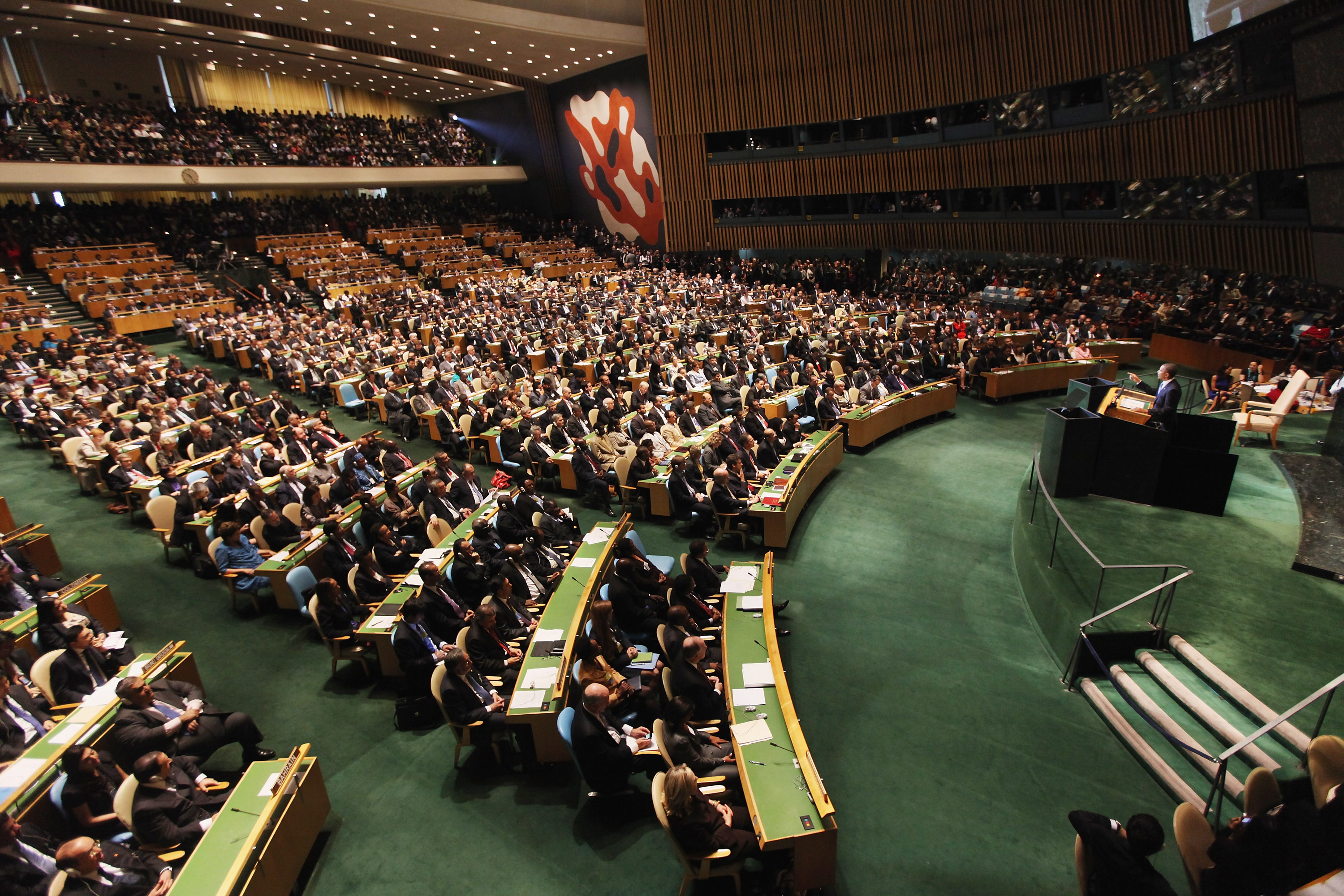 World Leaders Attend 66th United Nations General Assembly