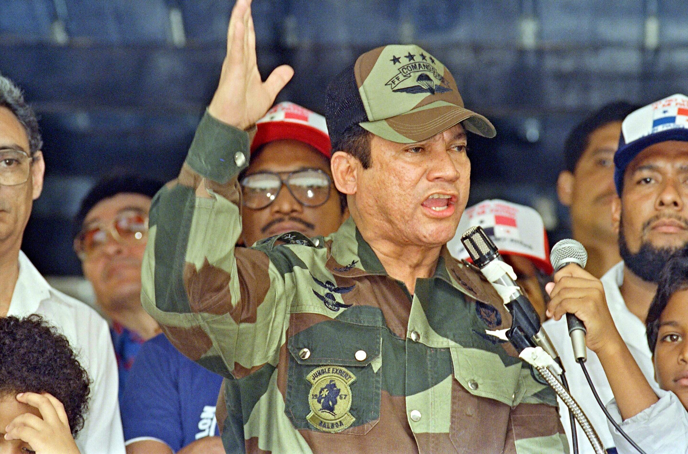 General Manuel Antonio Noriega speaks 20