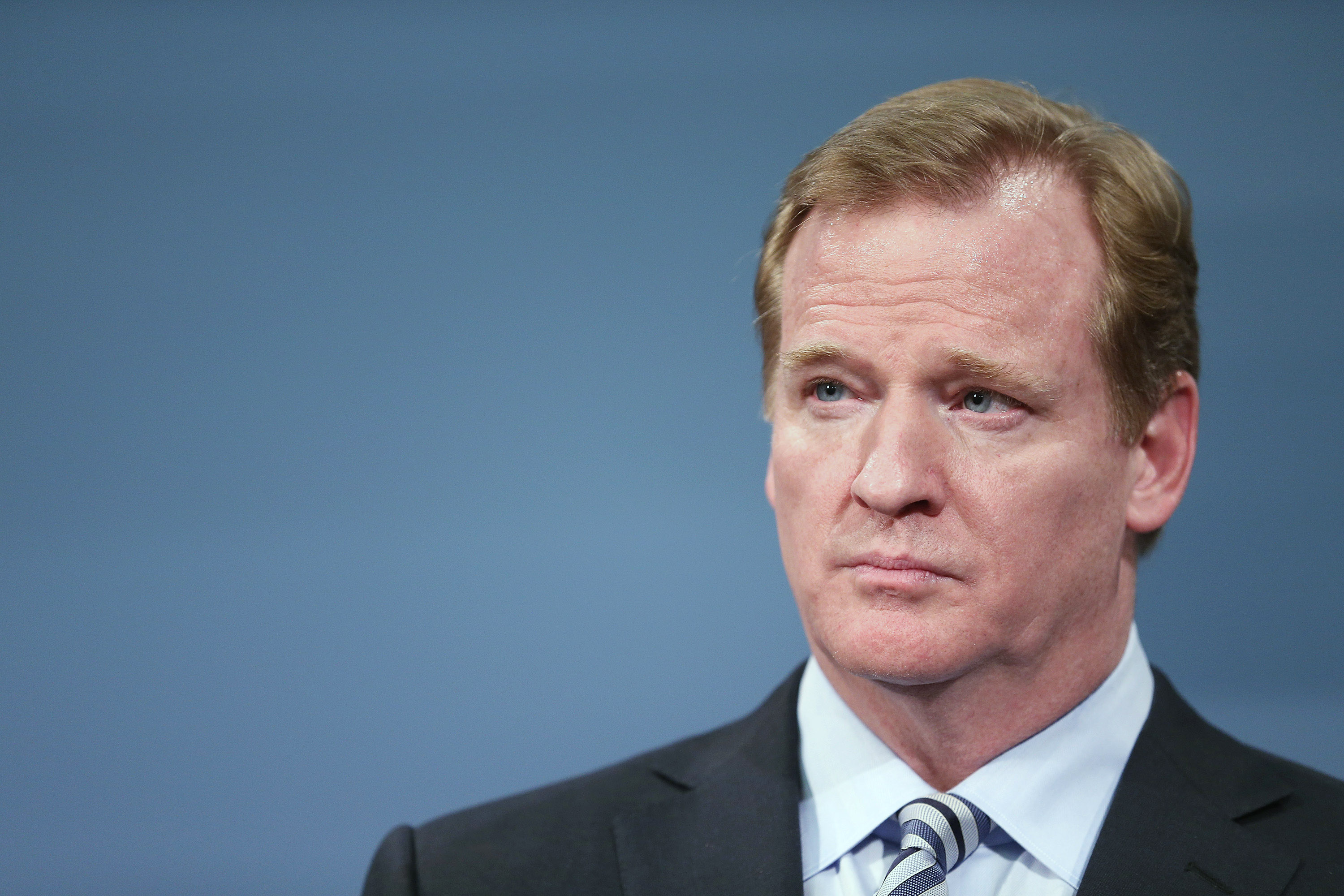 NFL Commissioner Goodell Discuss 2014 Super Bowl Plans