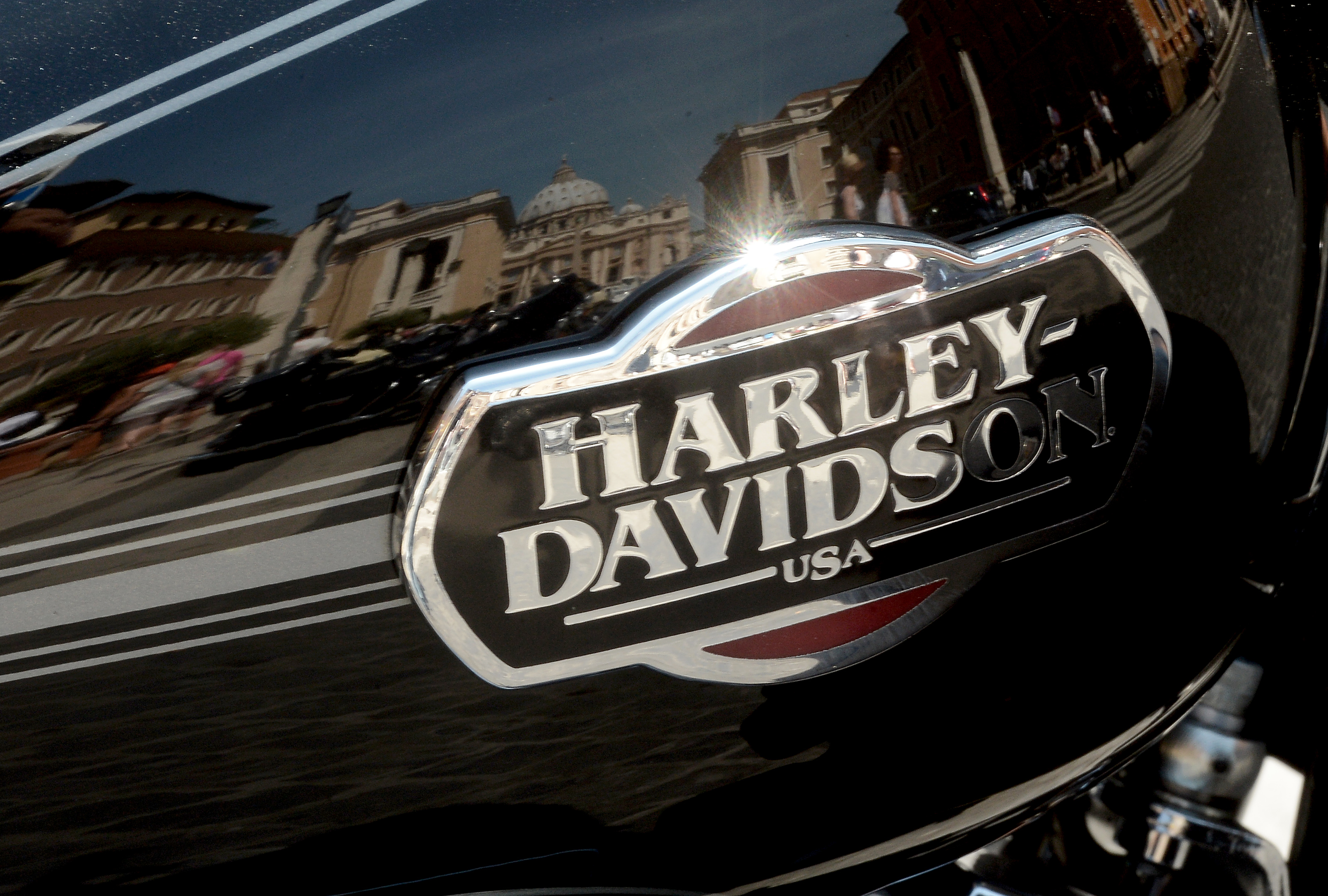 ITALY-MOTORCYCLE-HARLEY