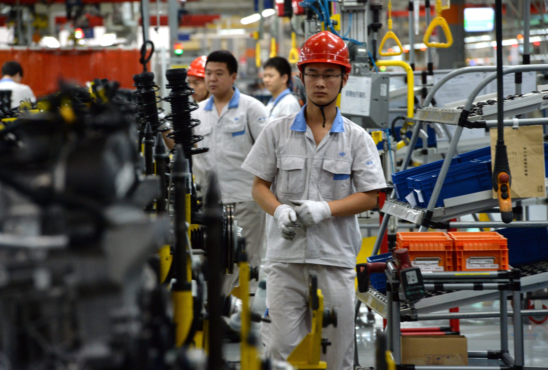CHINA-GERMANY-AUTO-FAW-VOLKSWAGEN