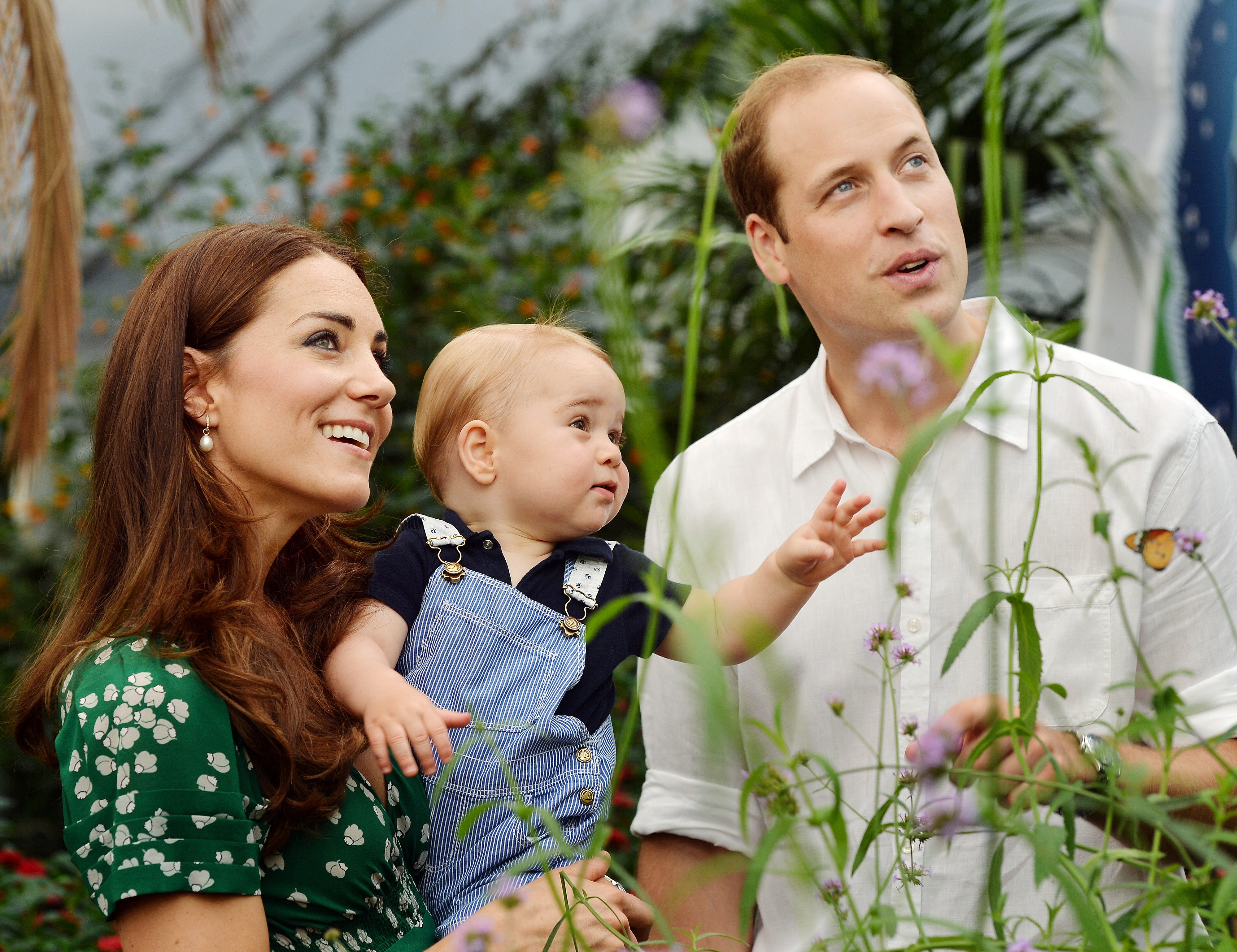 BRITAIN-ROYALS-GEORGE-BIRTHDAY-MESSAGE-FAMILY