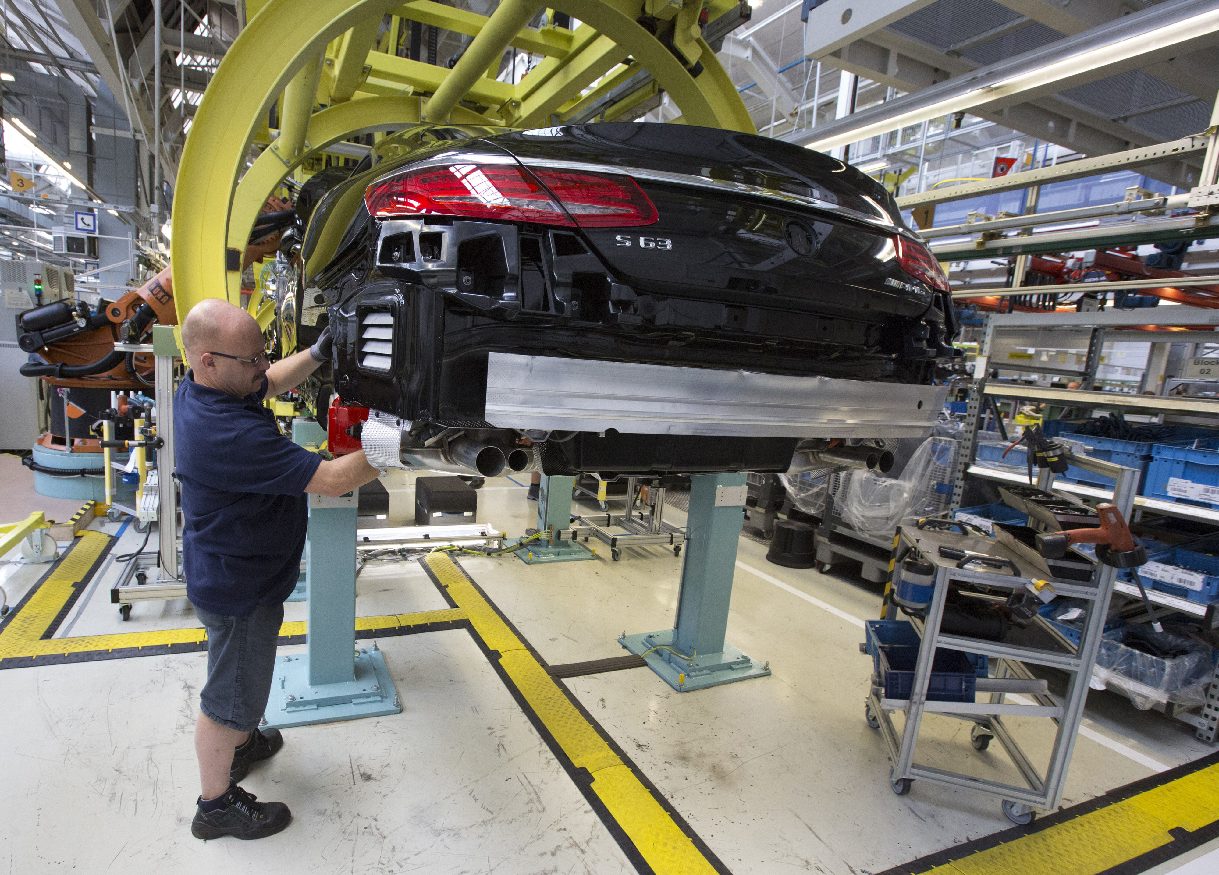 Mercedes S Class Coupe Production