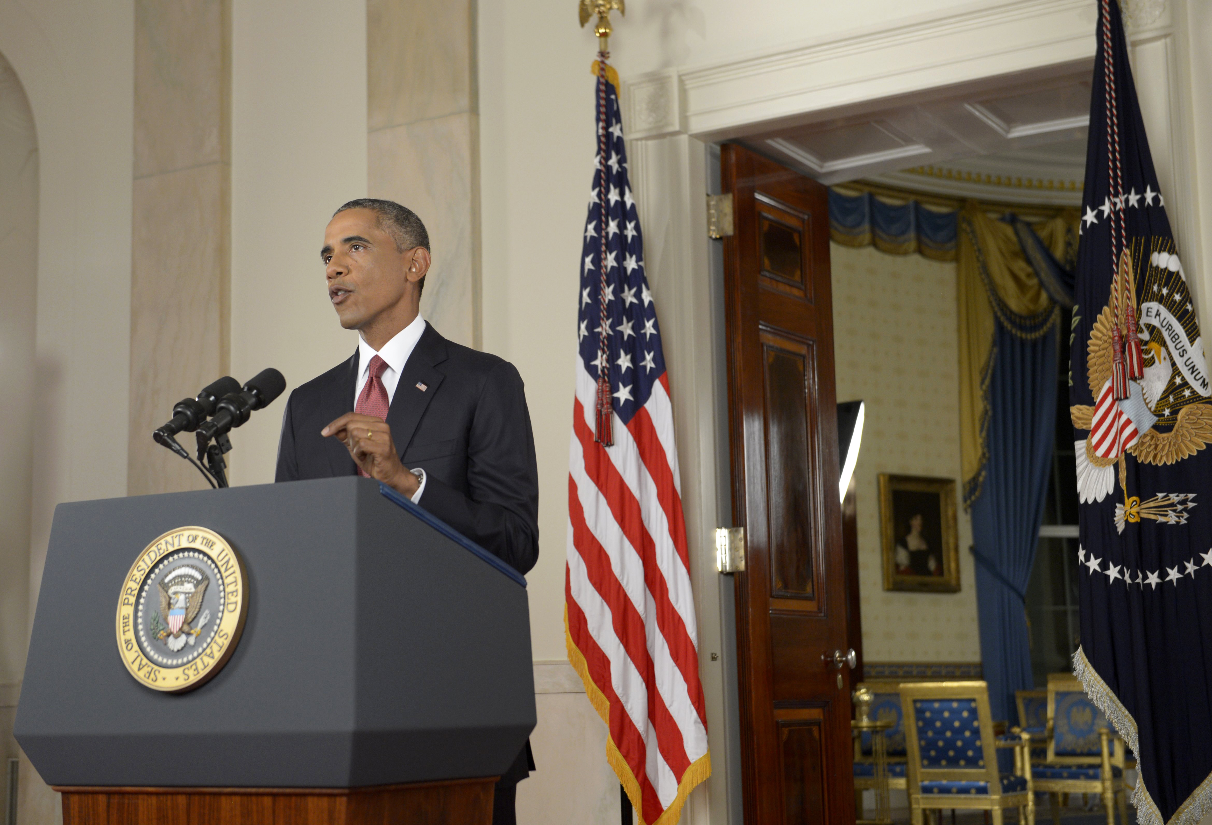 President Obama Delivers An Address To The Nation