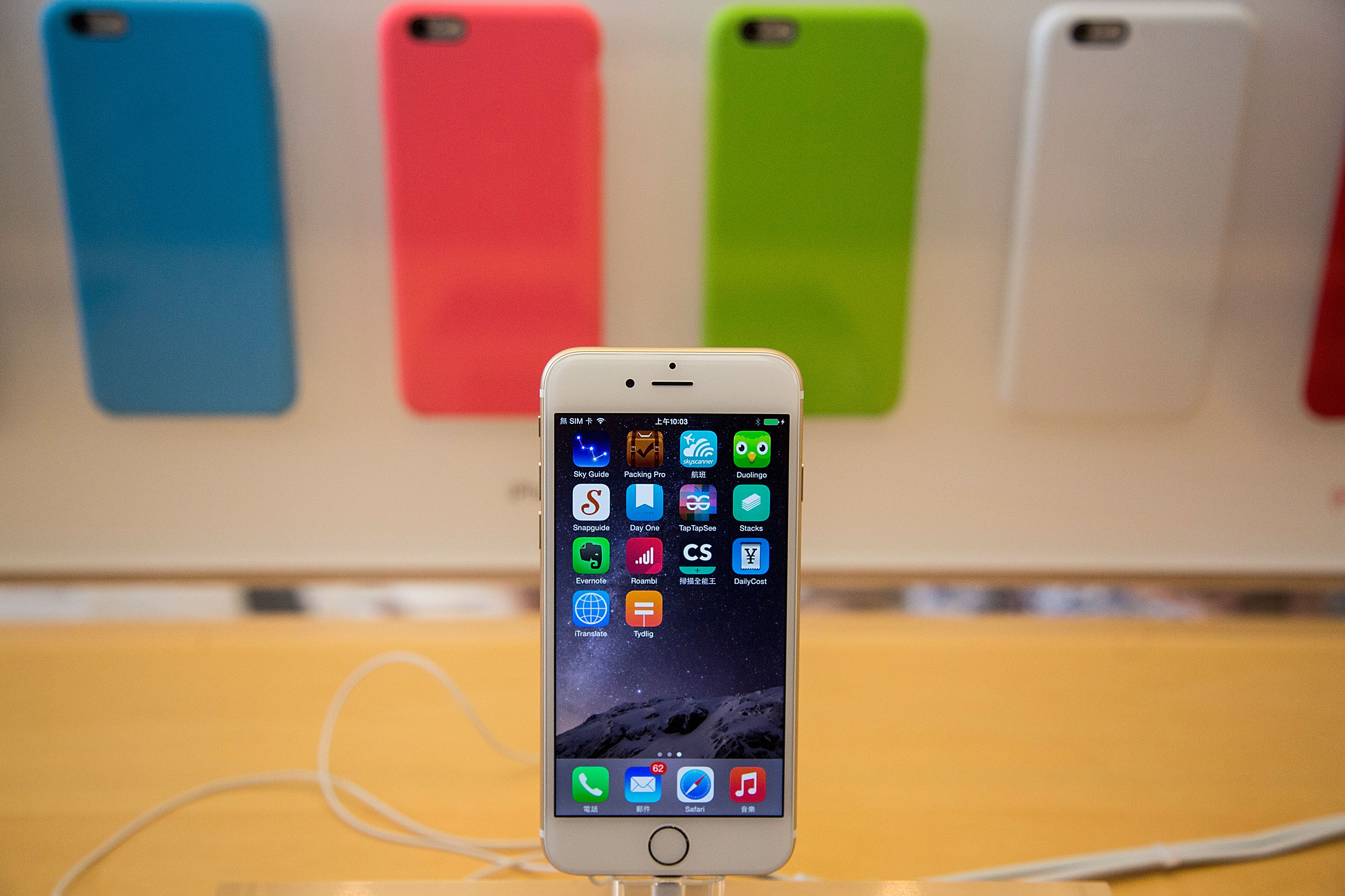 iPhone 6 Becomes Available In Hong Kong